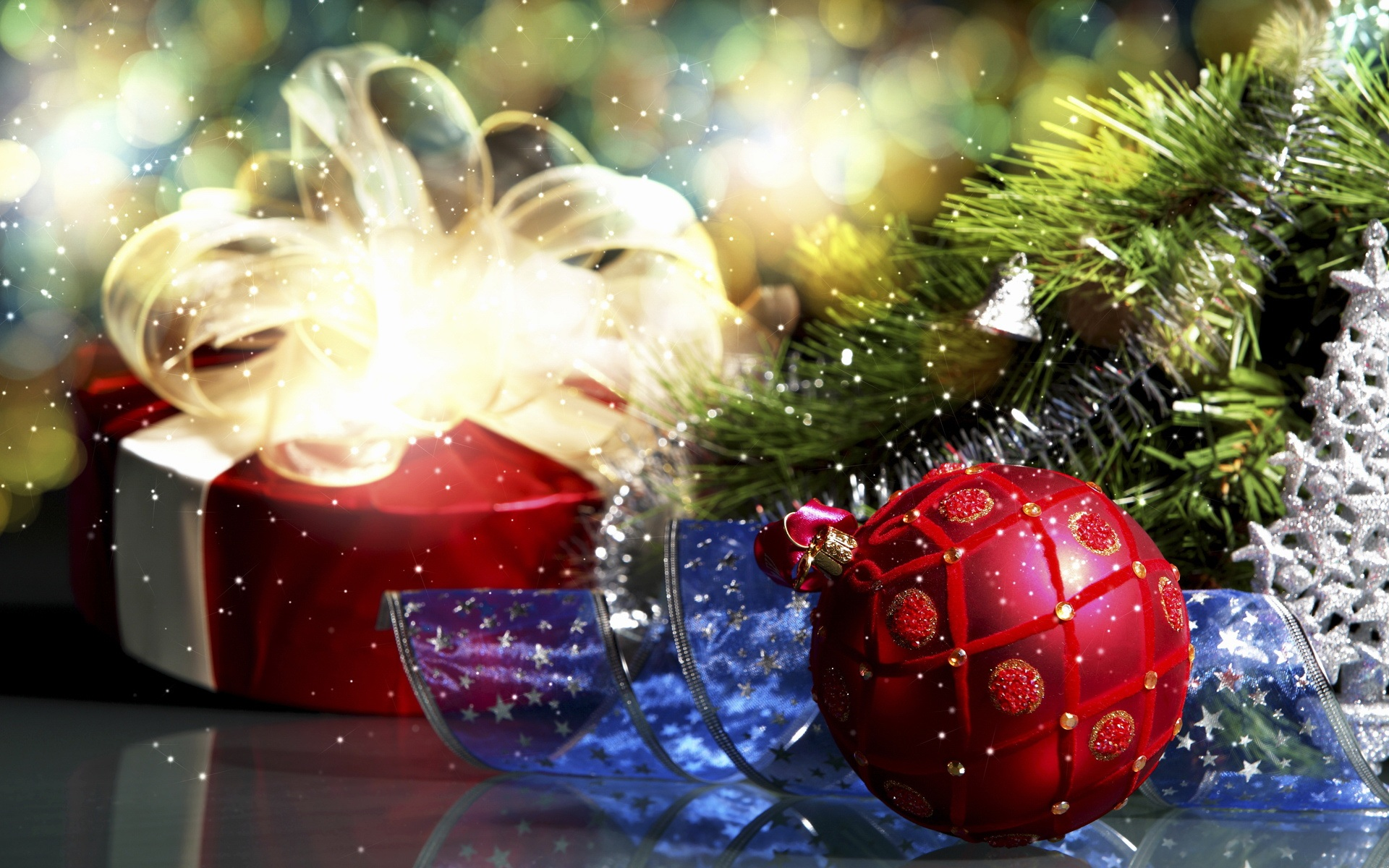 Christmas decoration theme wallpaper 51377