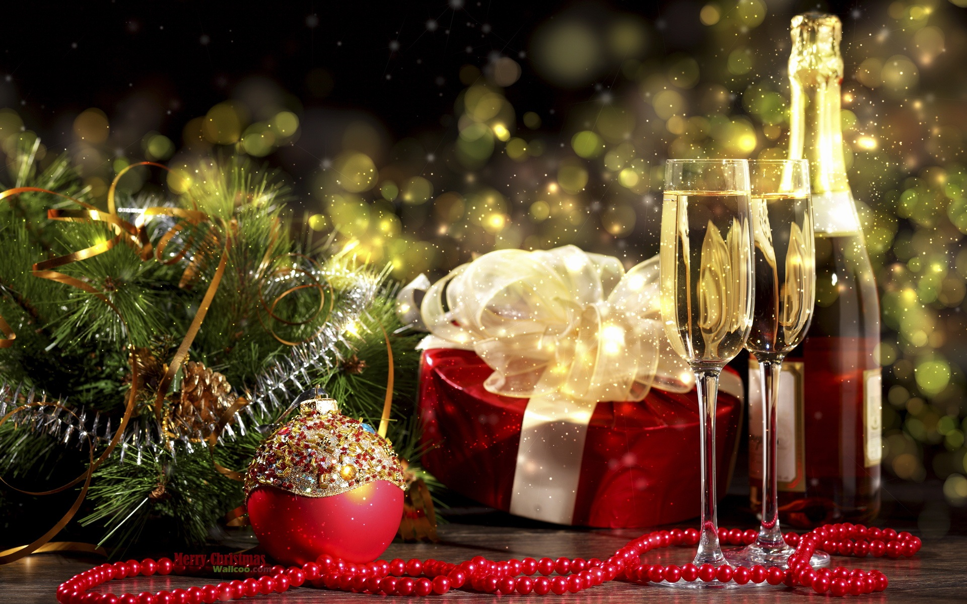 Christmas decoration theme wallpaper 51378