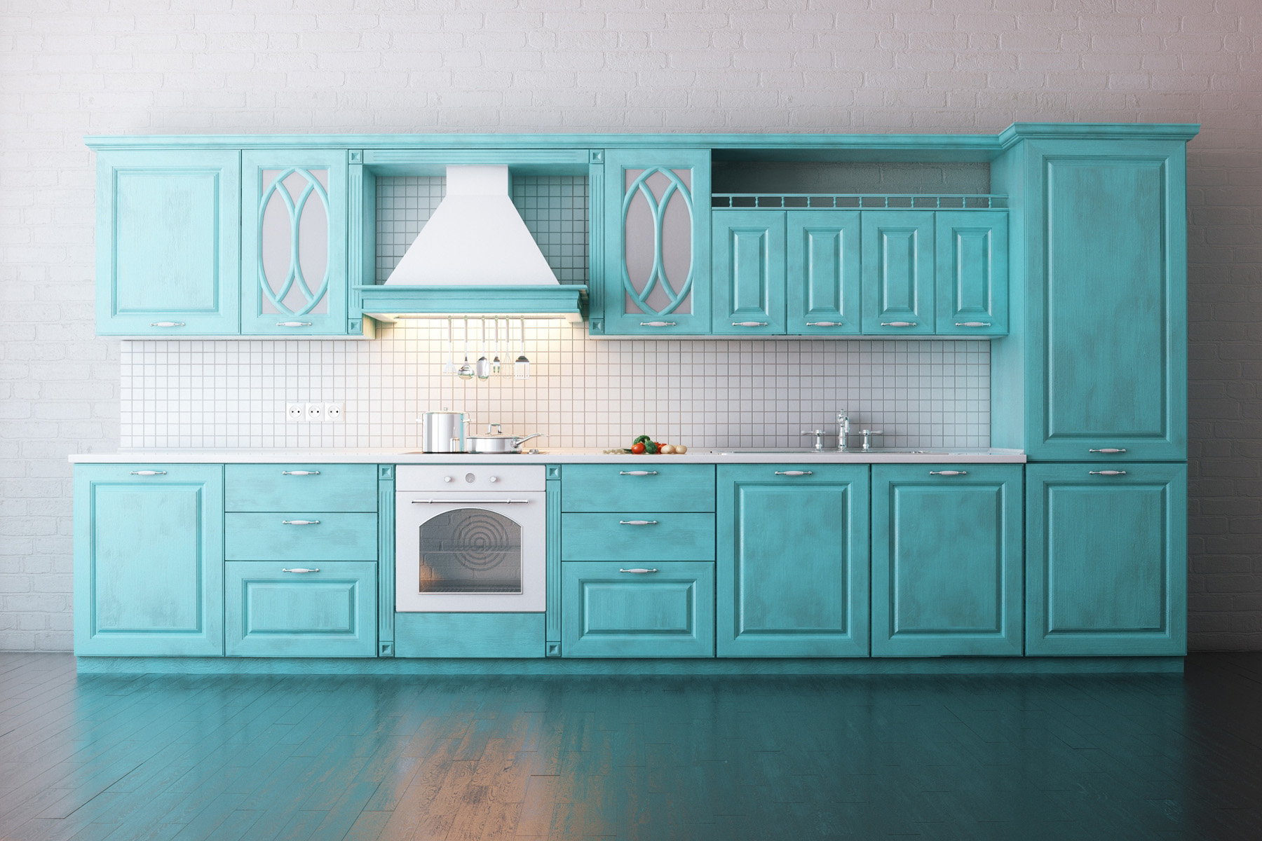 Kitchen cabinets and kitchen utensils 51492 - Building home ...