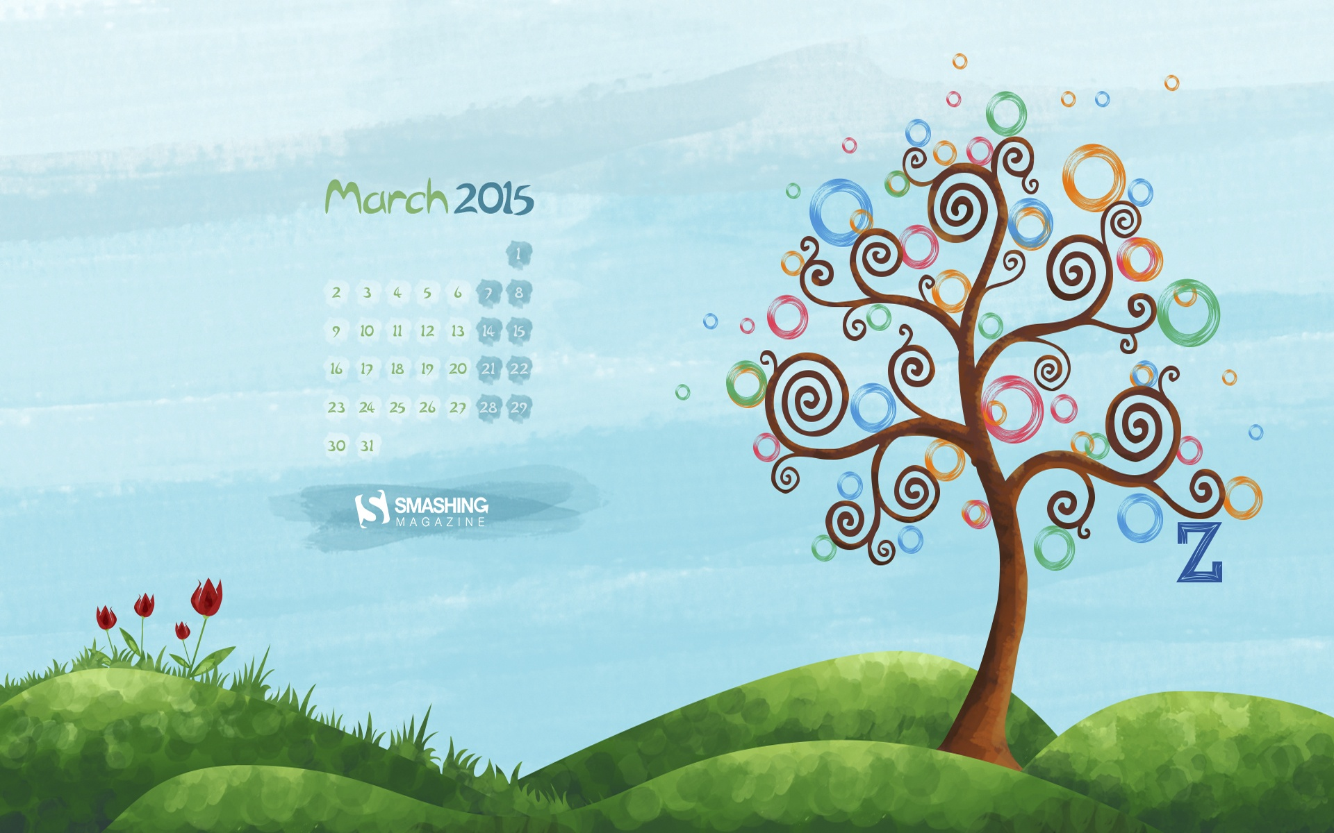 Month year calendar wallpapers 51595
