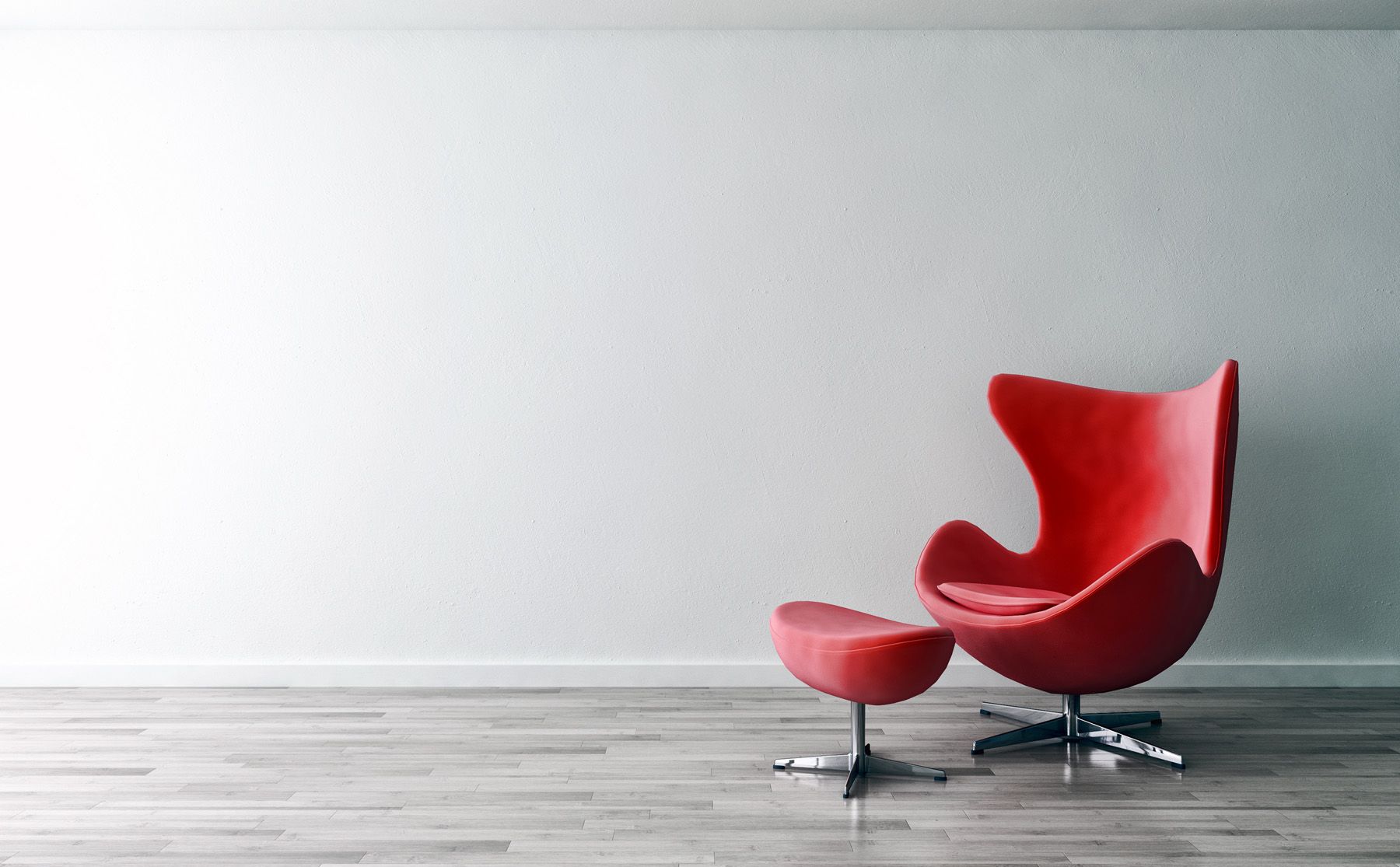 Red sofa in the room swivel chairs 51775