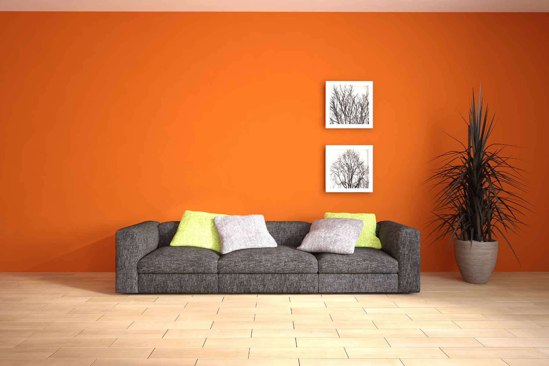 orange wall decoration 51793 - building home decoration - city