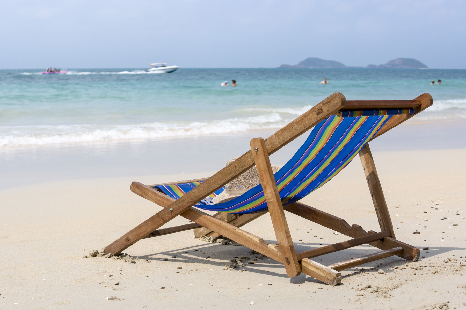 Beach Lounge Chair With Sea Views 51804