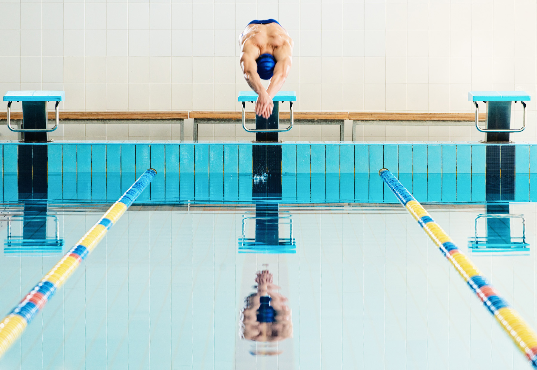 Jump into the pool of athletes 51863