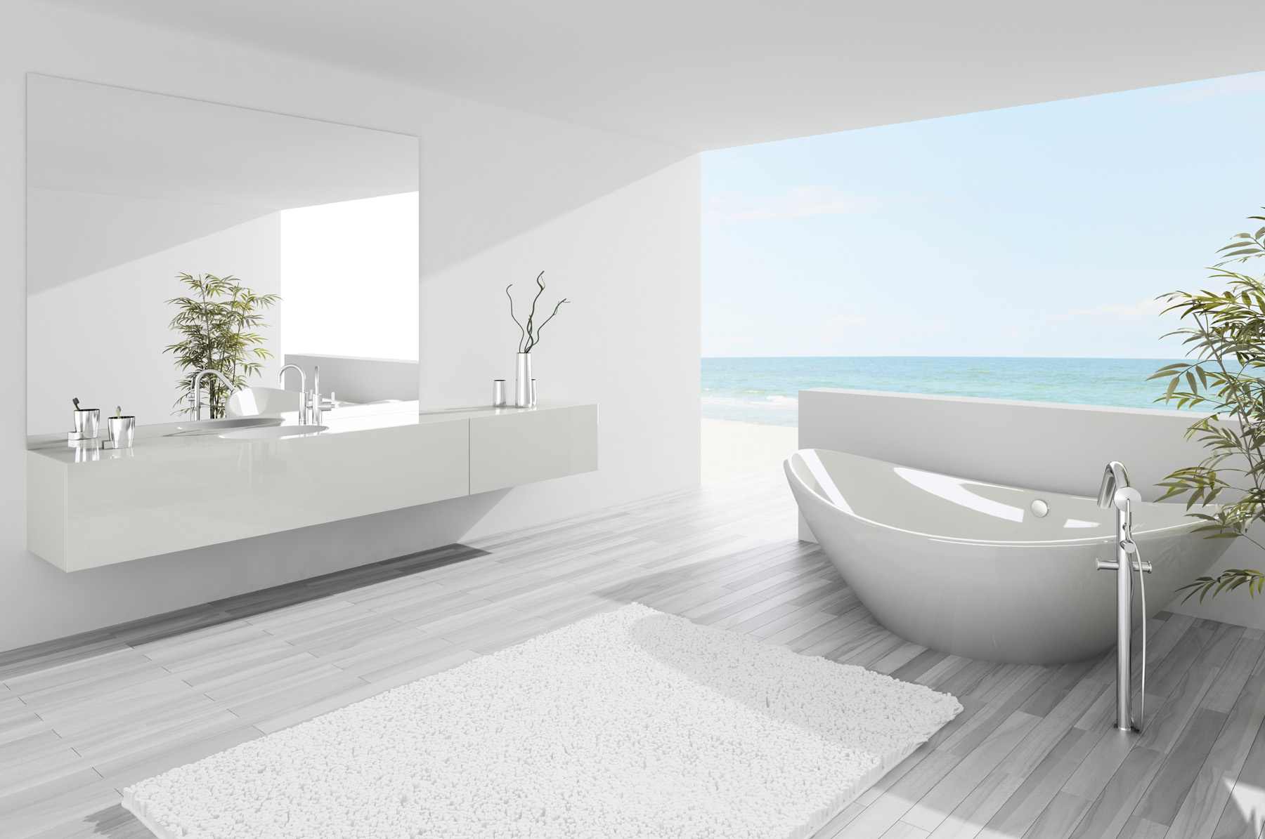 Villa ocean view bathtubs 51888