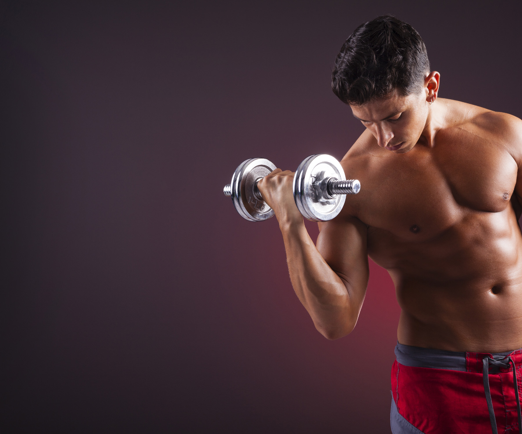 Single hand dumbbells muscle hunk 51920