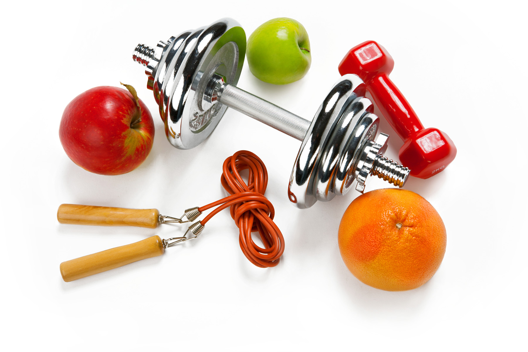 Fitness tools such as dumbbells and rope skipping 51969