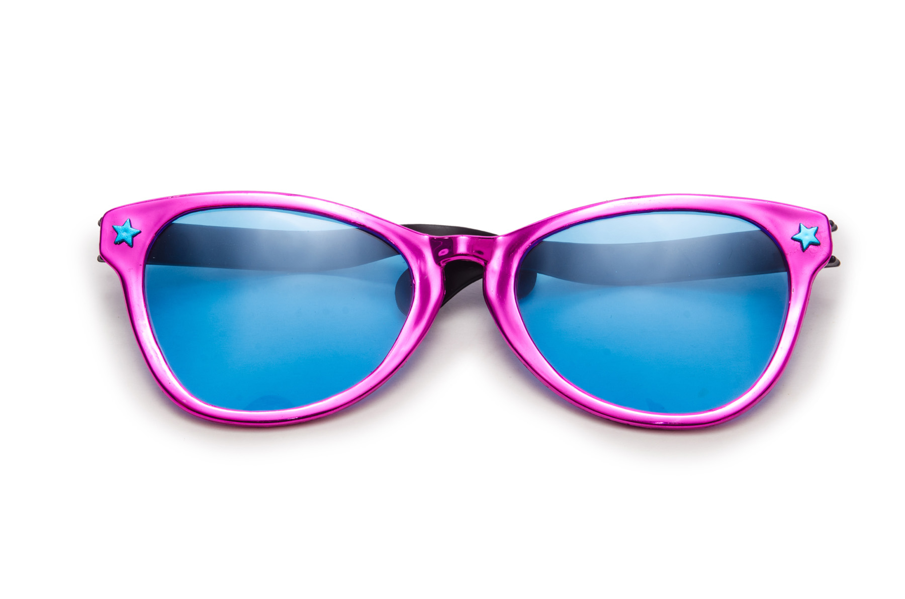 Women's Purple frame sunglasses 52027
