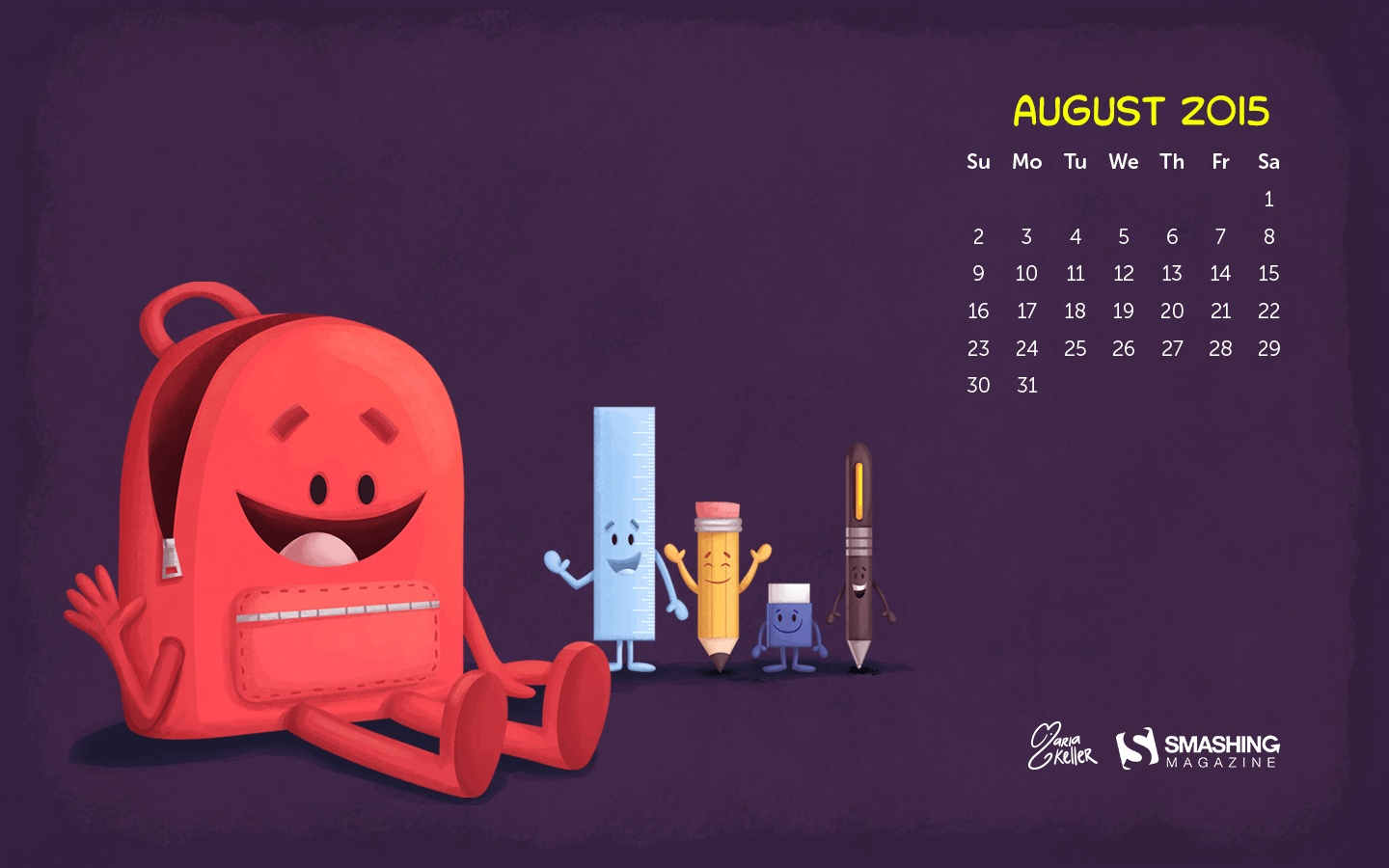 Month year calendar wallpapers 52237