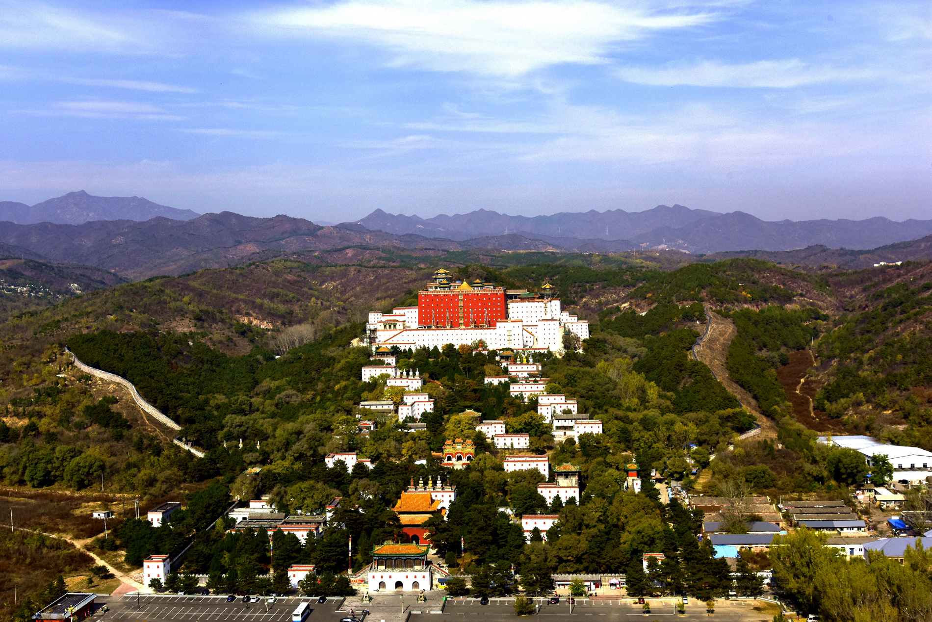 Panorama PuTuo Temple in Chengde 52467