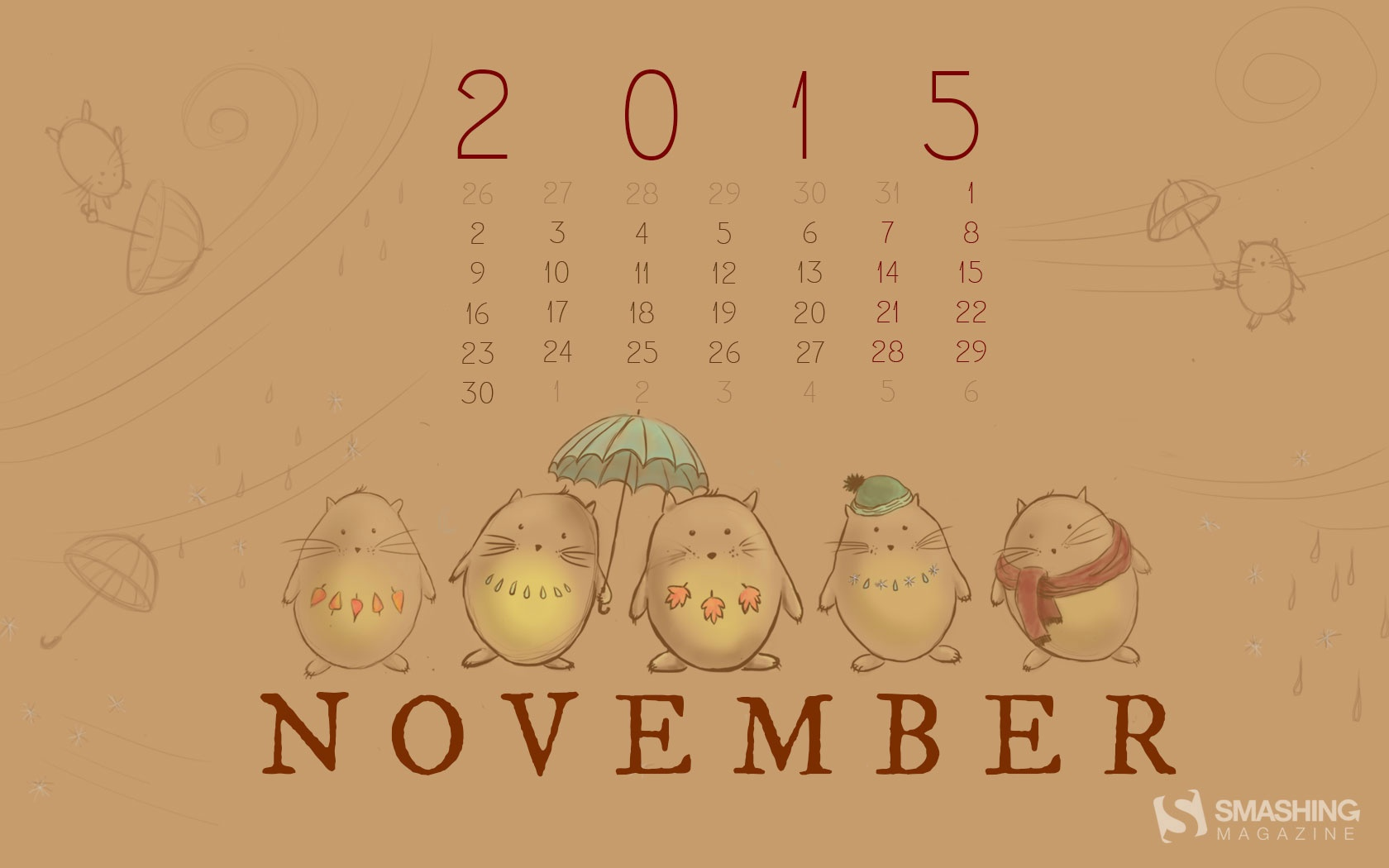 Month year calendar wallpapers 52517
