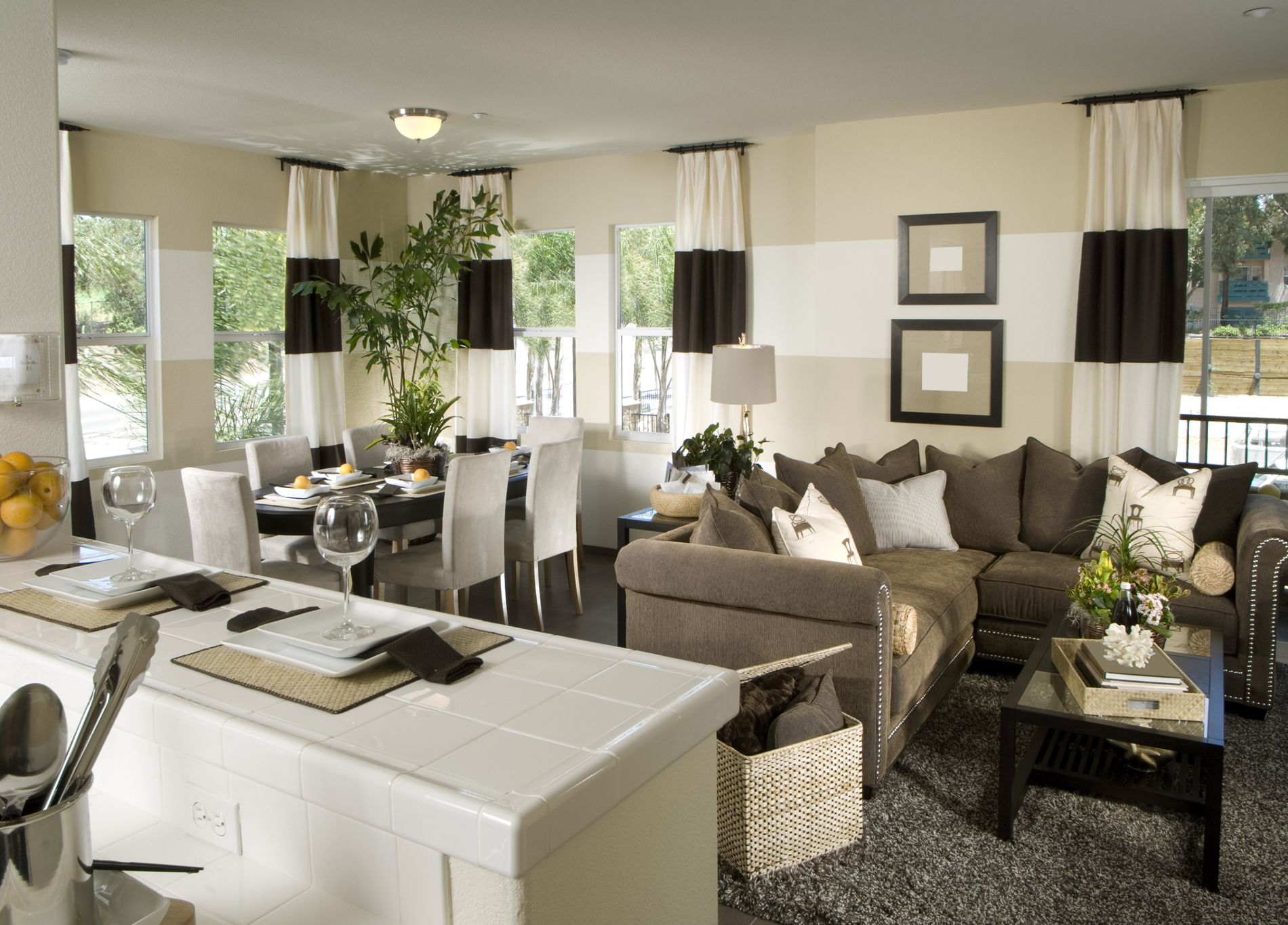 The compact layout of the room interiors 52563