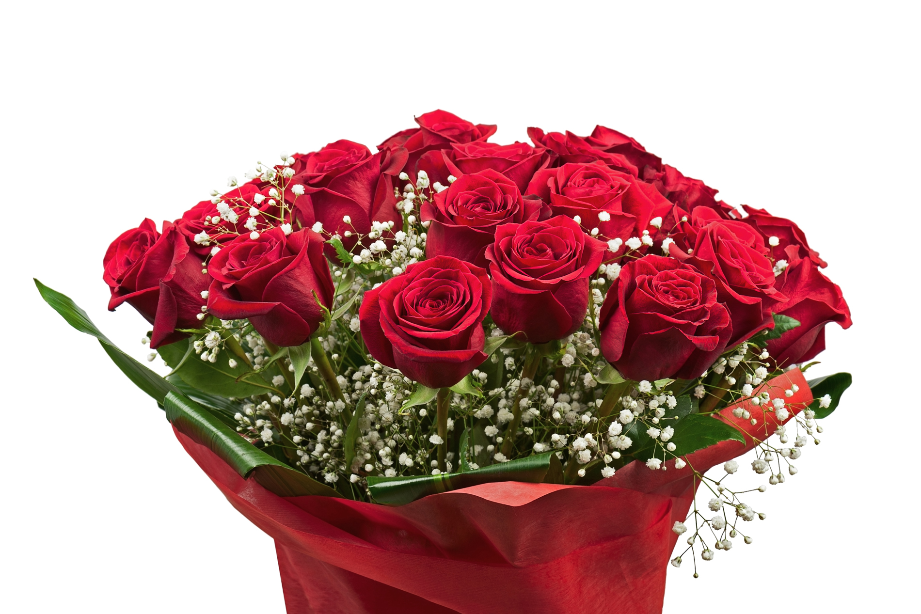 Bouquets of bright red 52638