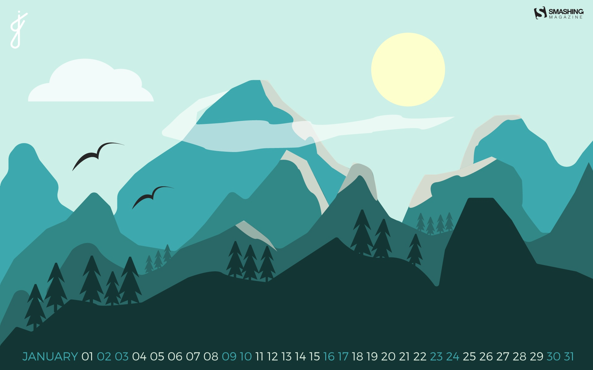 Month year calendar wallpapers 52649