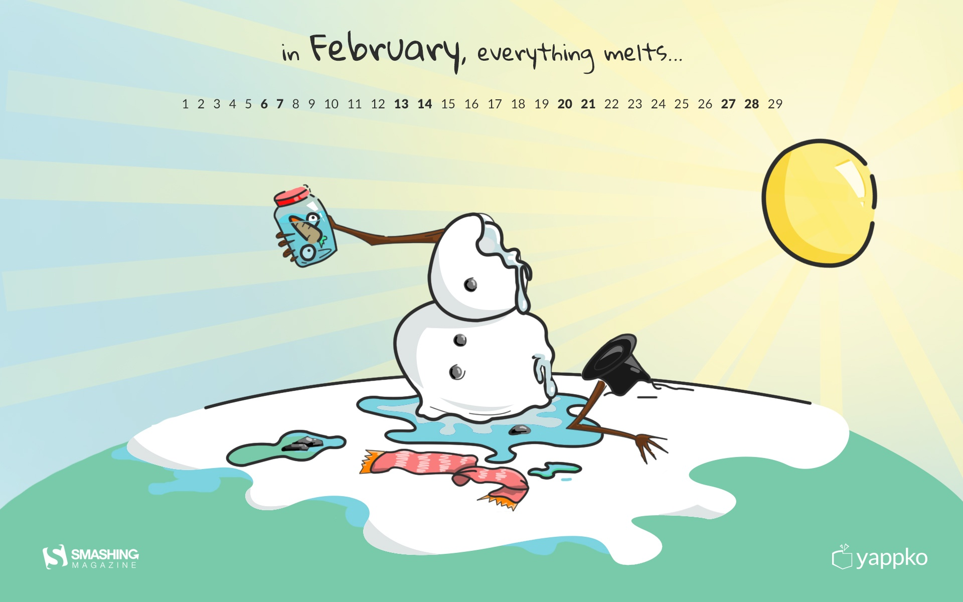Month year calendar wallpapers 52667