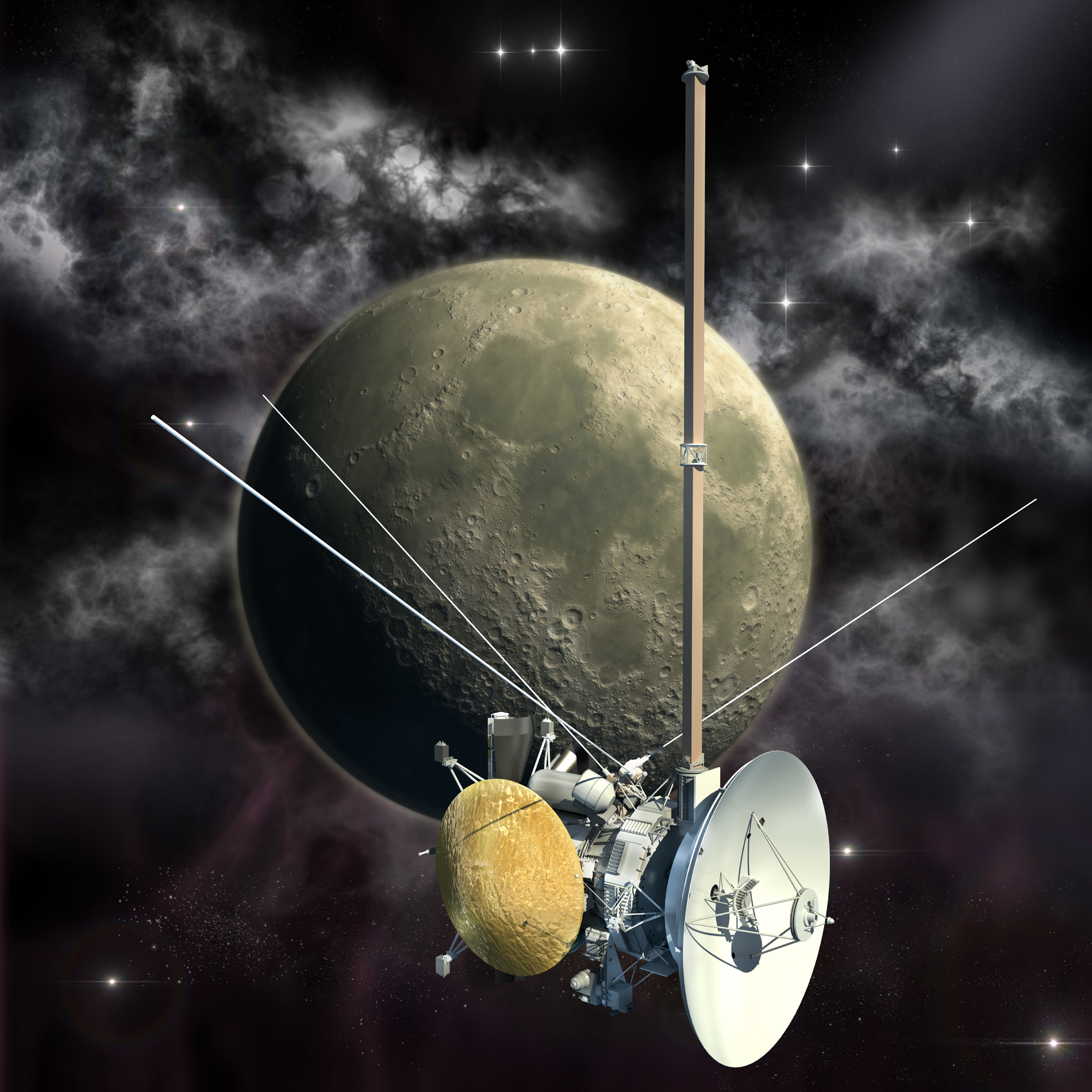 Space, planets and space probes 52668