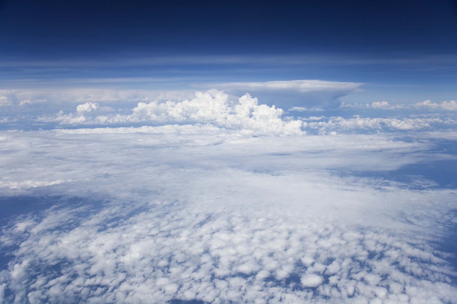 High up in the beautiful clouds 52742
