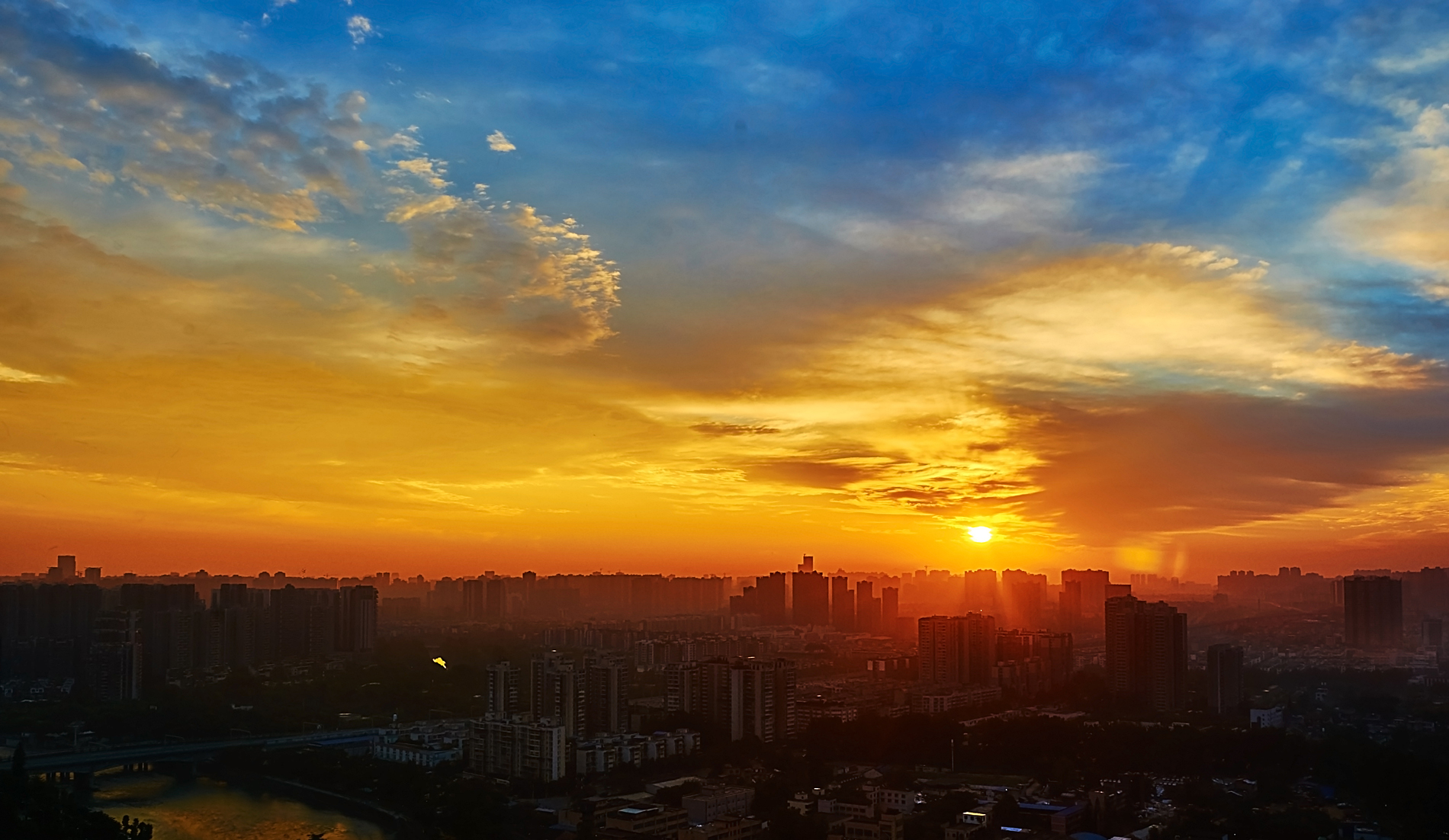 Chengdu Sunrise beauty 52769