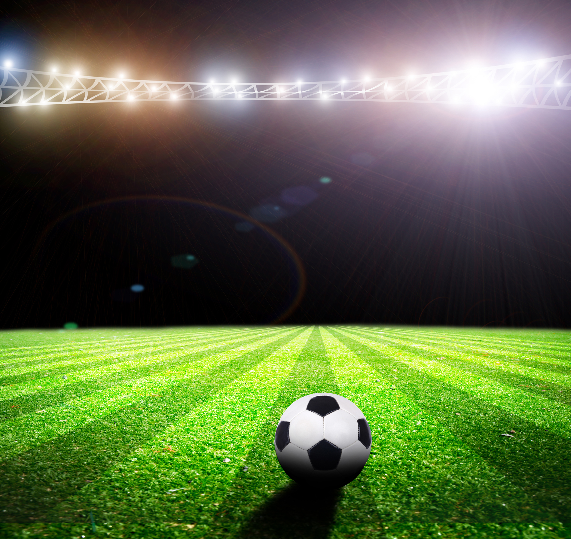 Display of football pitch 52935