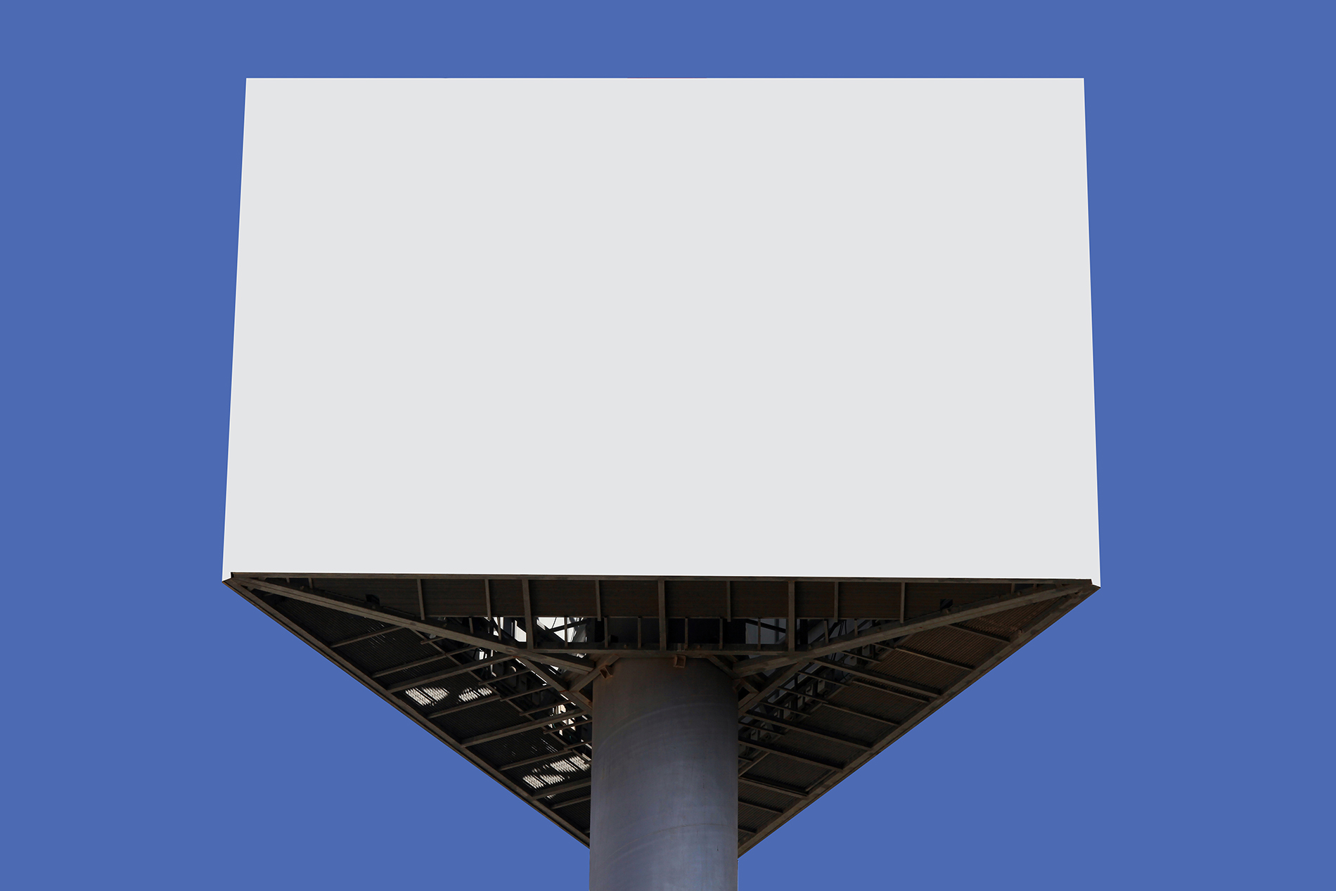 Steel frame outdoor Billboard 52949