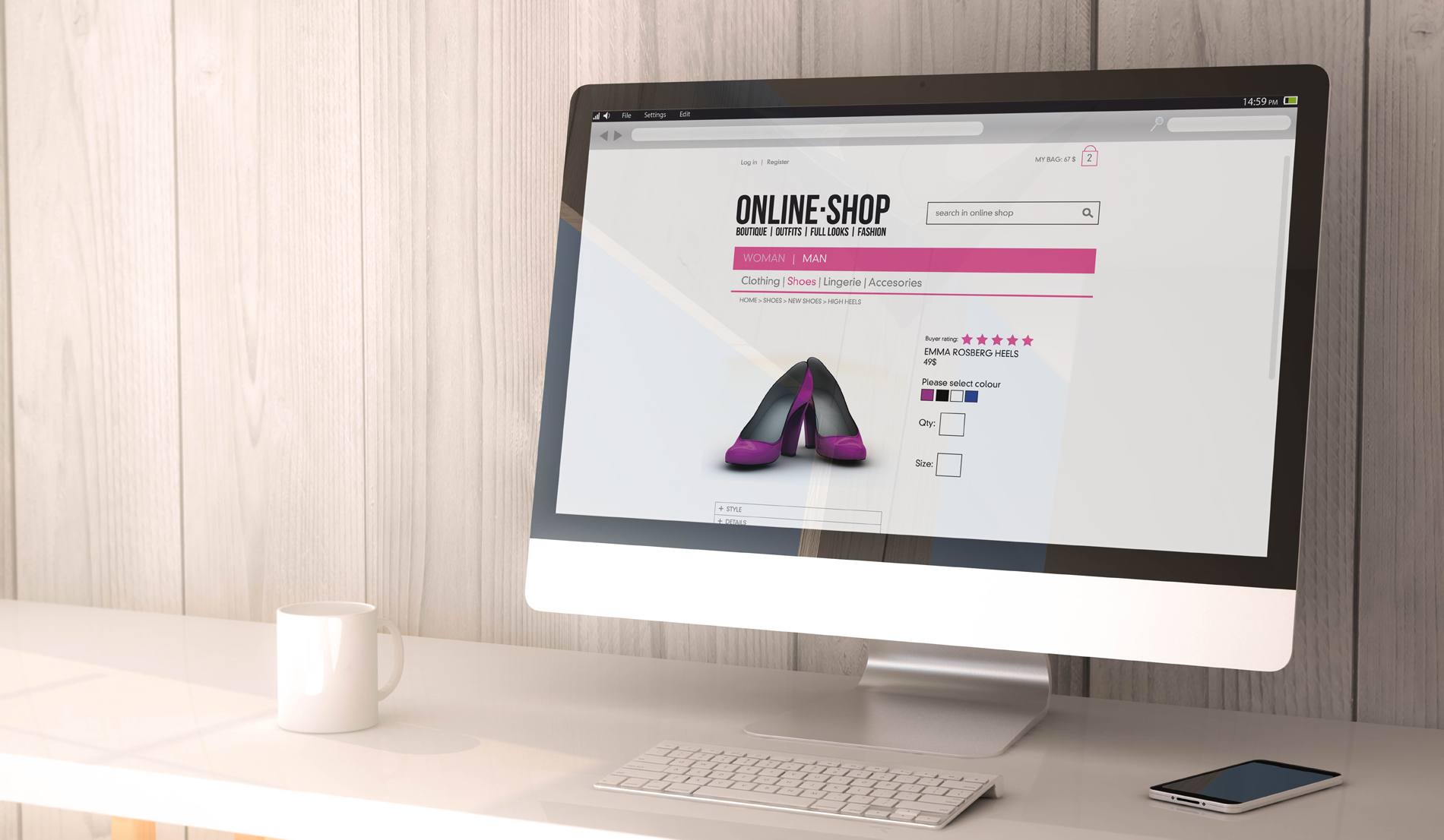 Shopping on line 53140