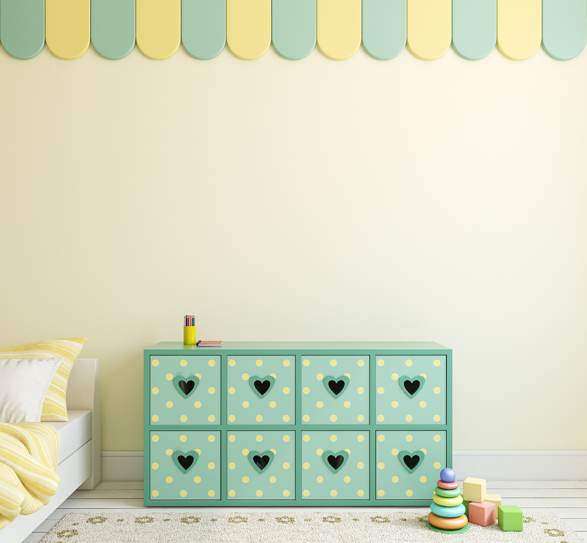 Children's rooms bedroom interior decoration 53226