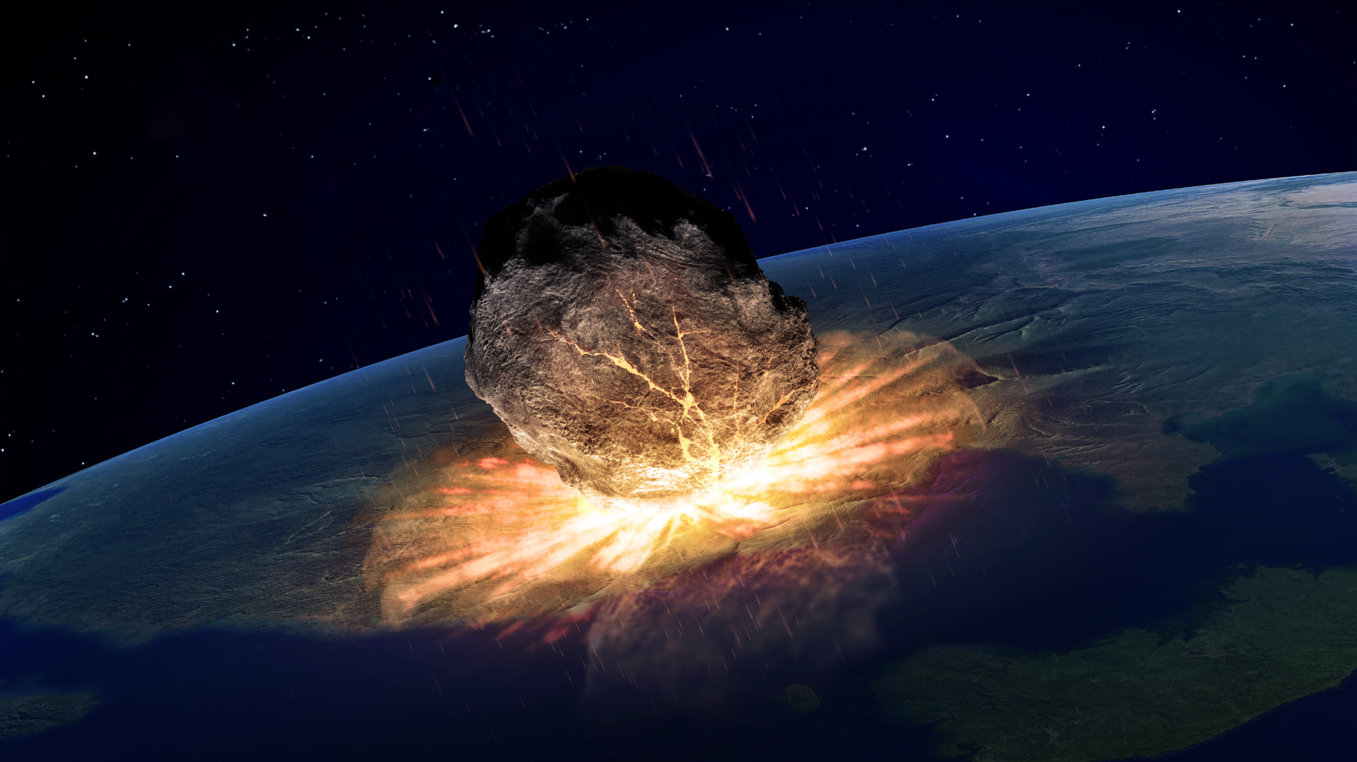 Space rocks that hit the Earth's surface 53436