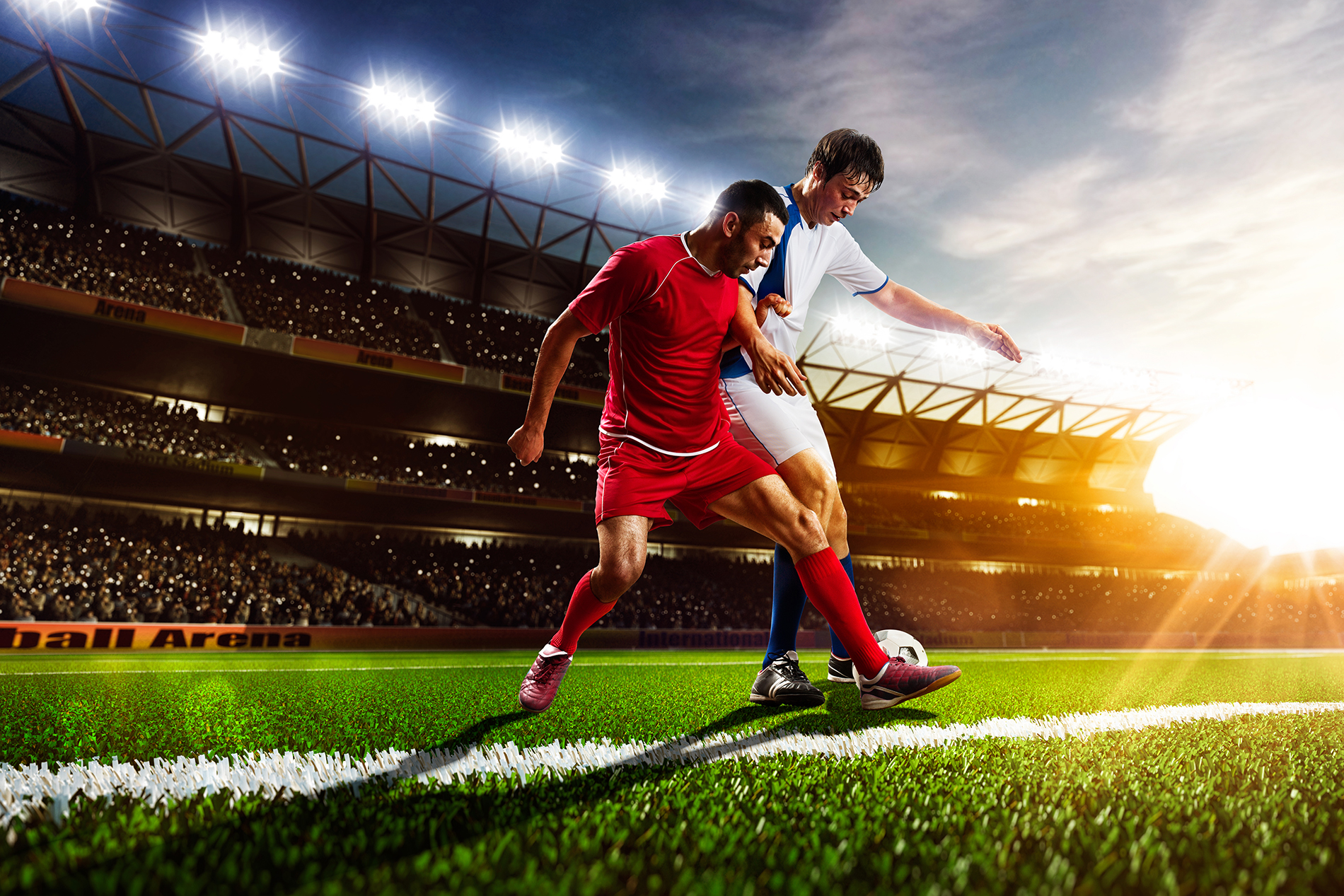 Football competition for athletes 53478