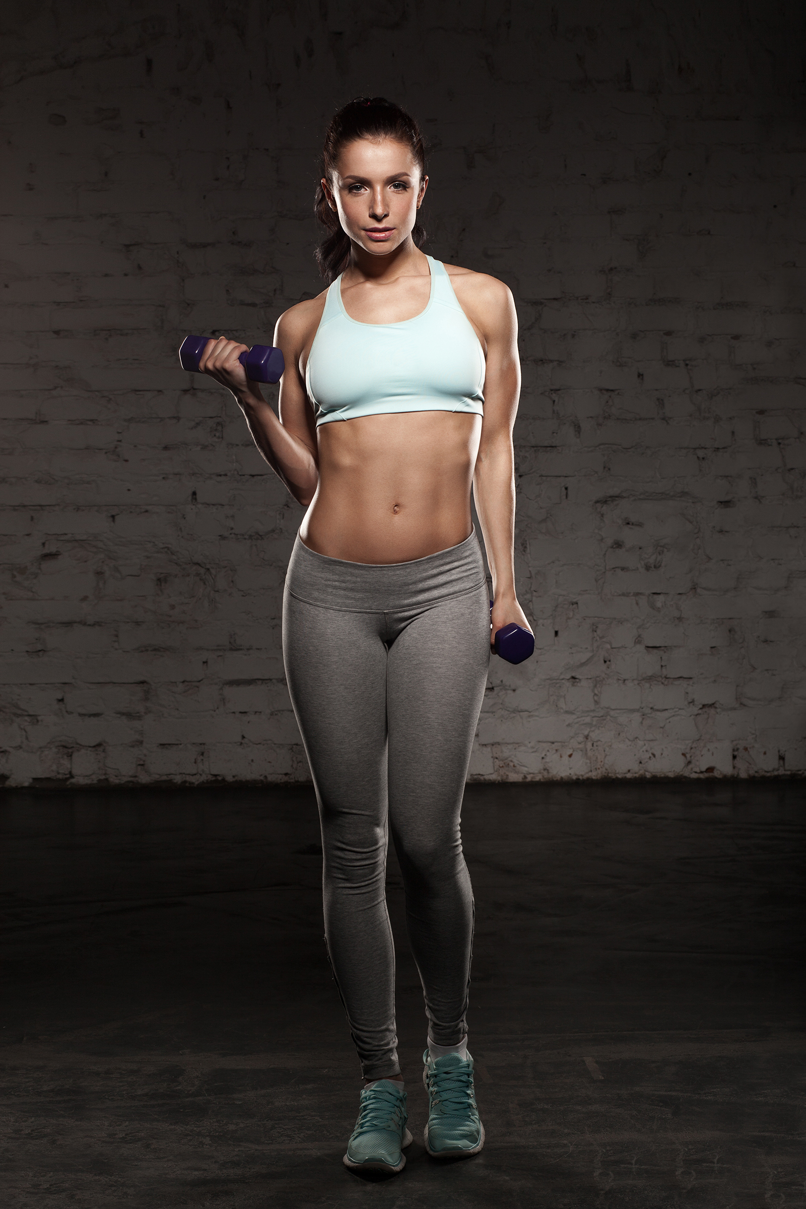 Wearing tight pants fitness beauties 53500