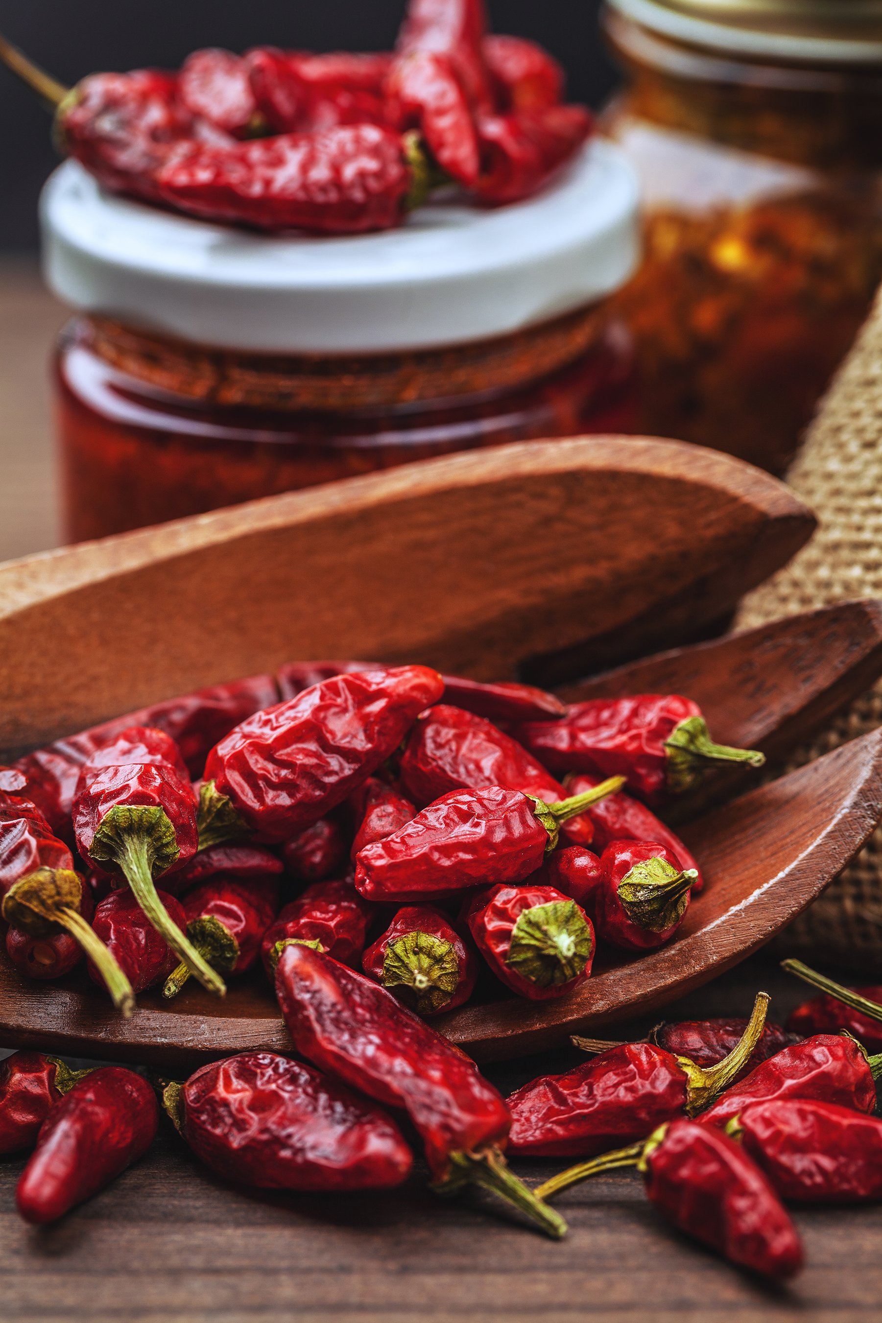 Dried peppers 53711