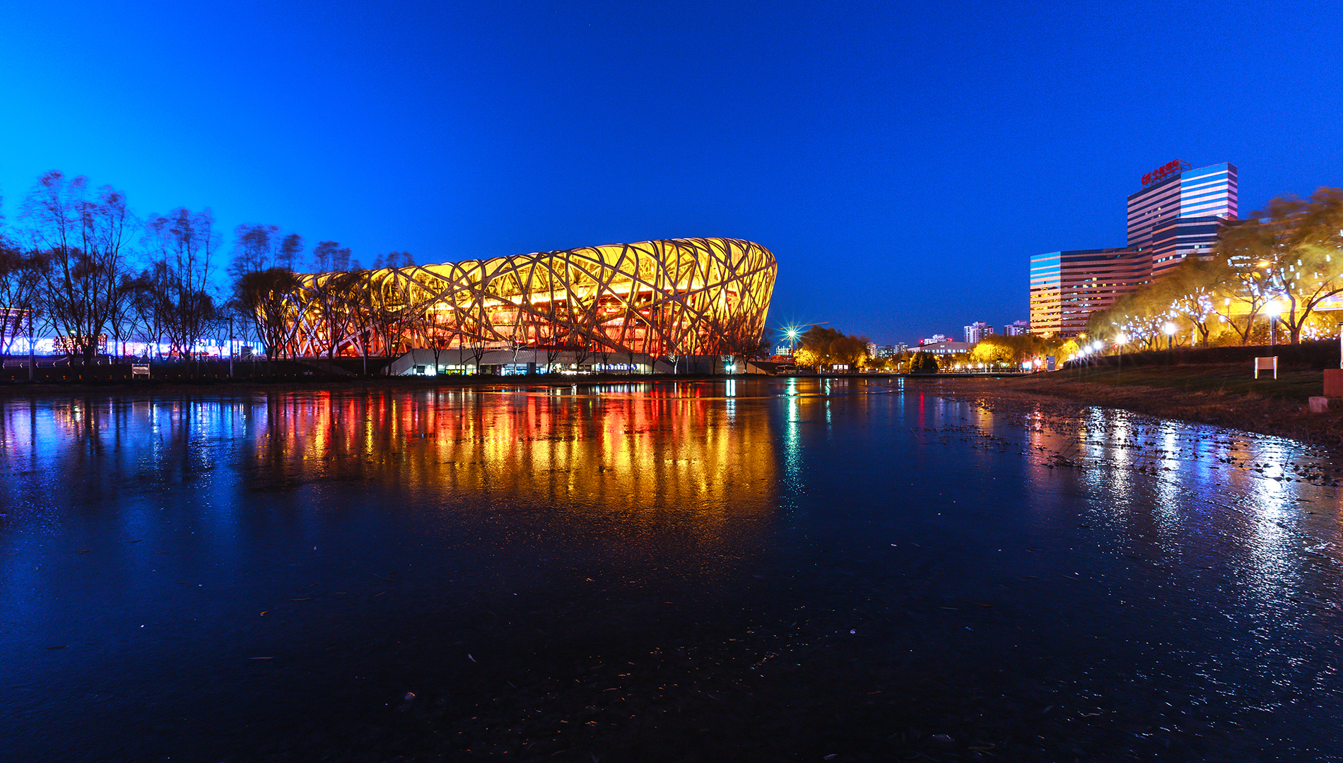 Beijing's bird's nest 53866