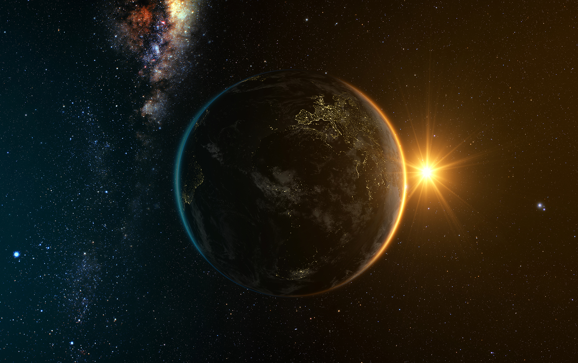 In the universe of Earth and Sun 53922