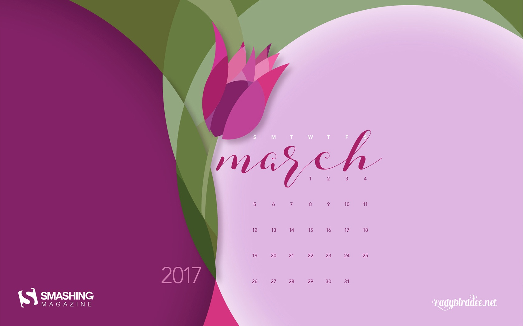 March 2017 Calendar Wallpaper  54042