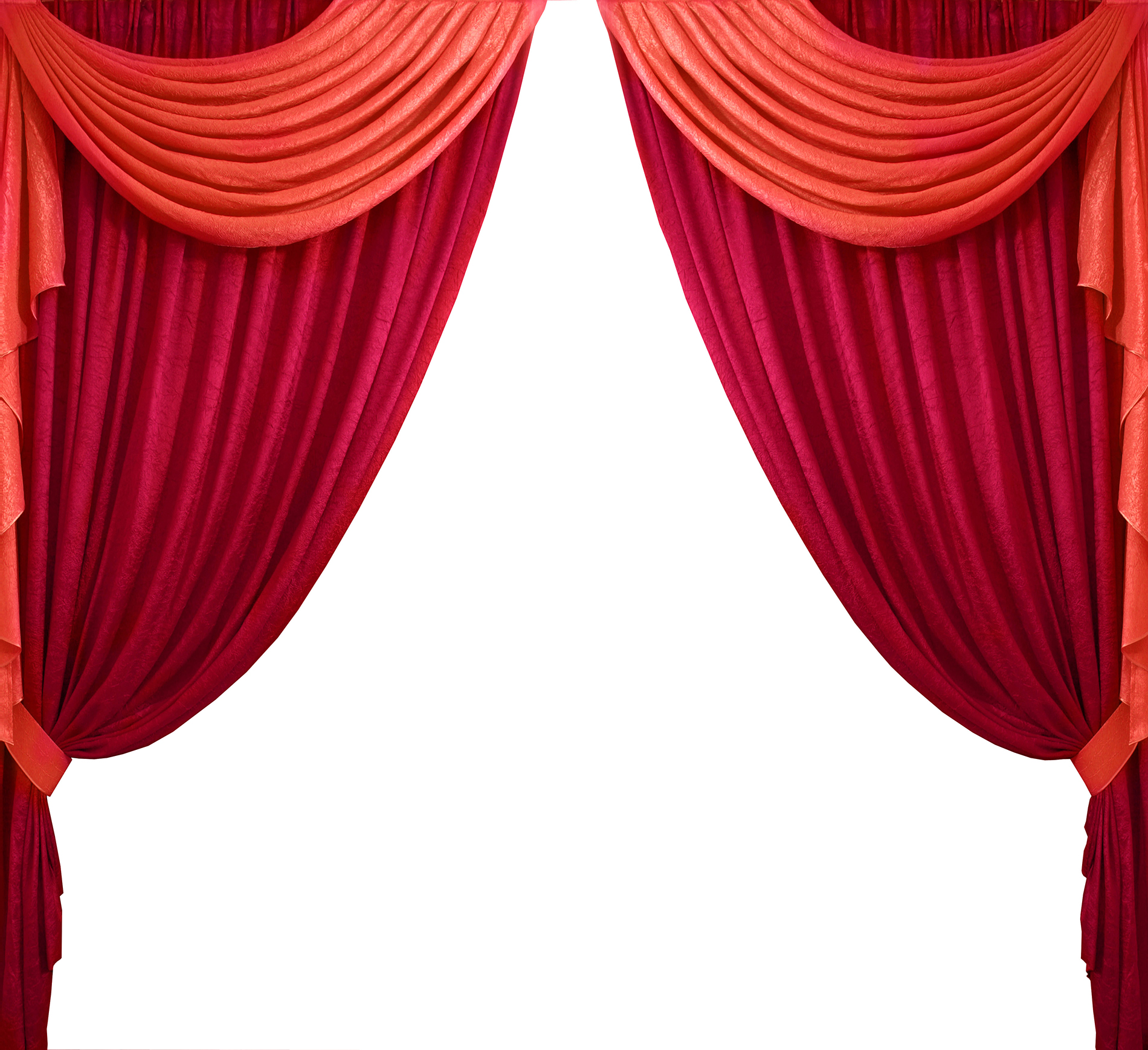 Red curtain  54256