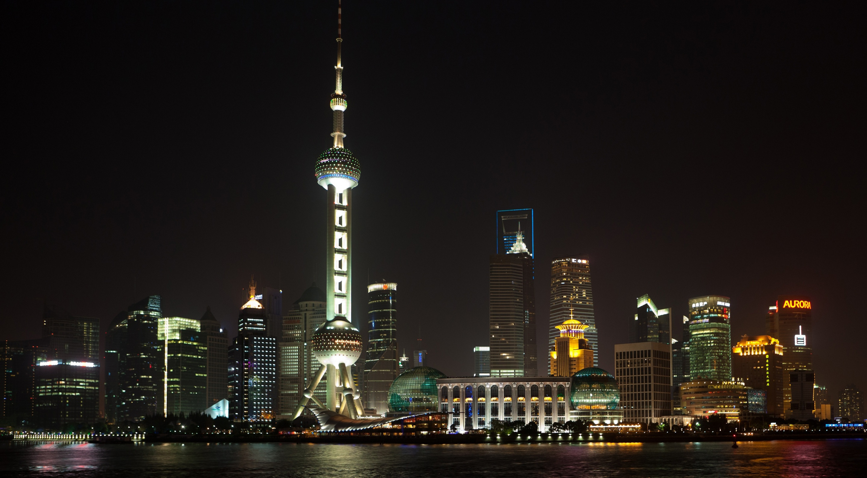Shanghai night view 54532