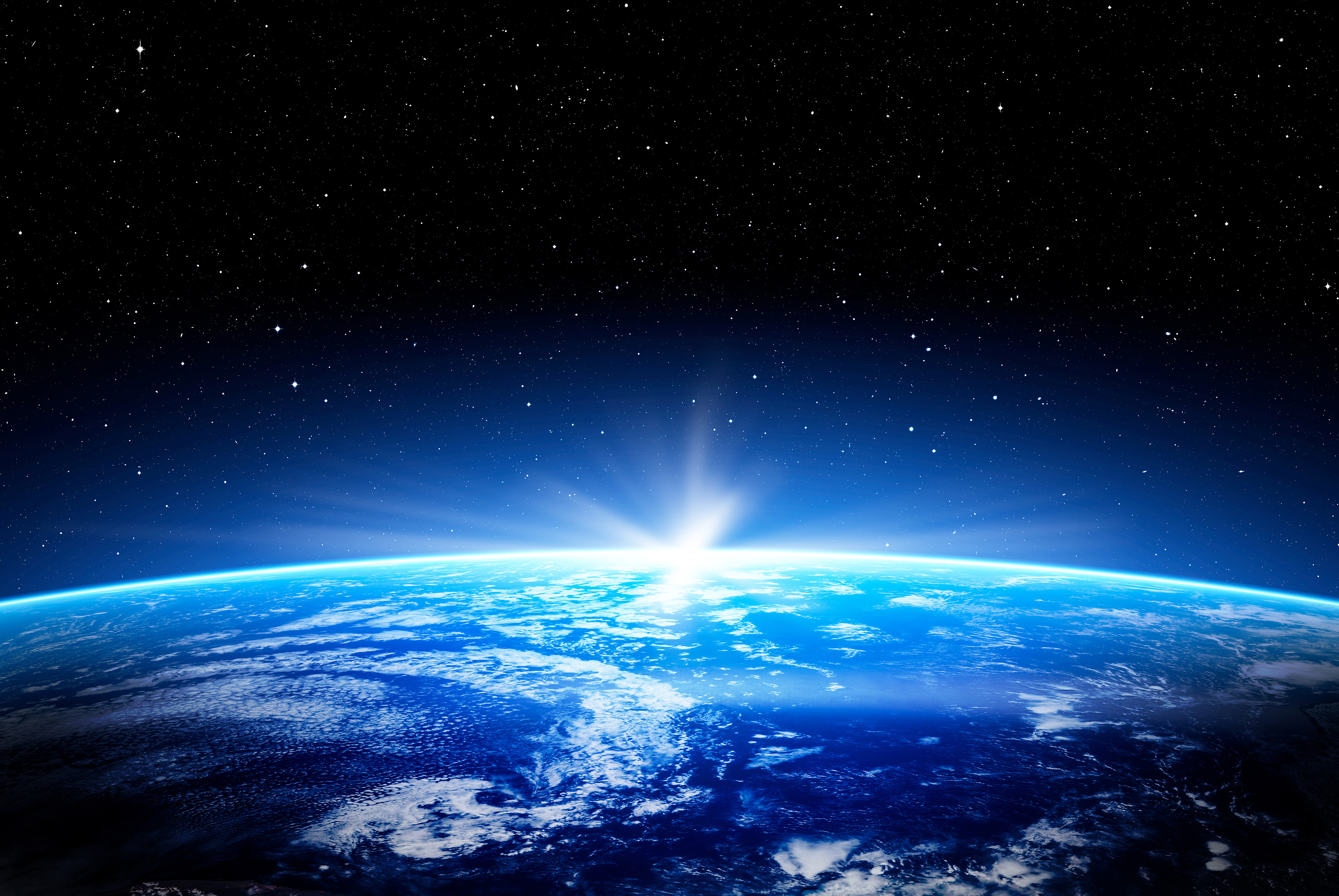 The blue planet 4968 in the vast universe 55233