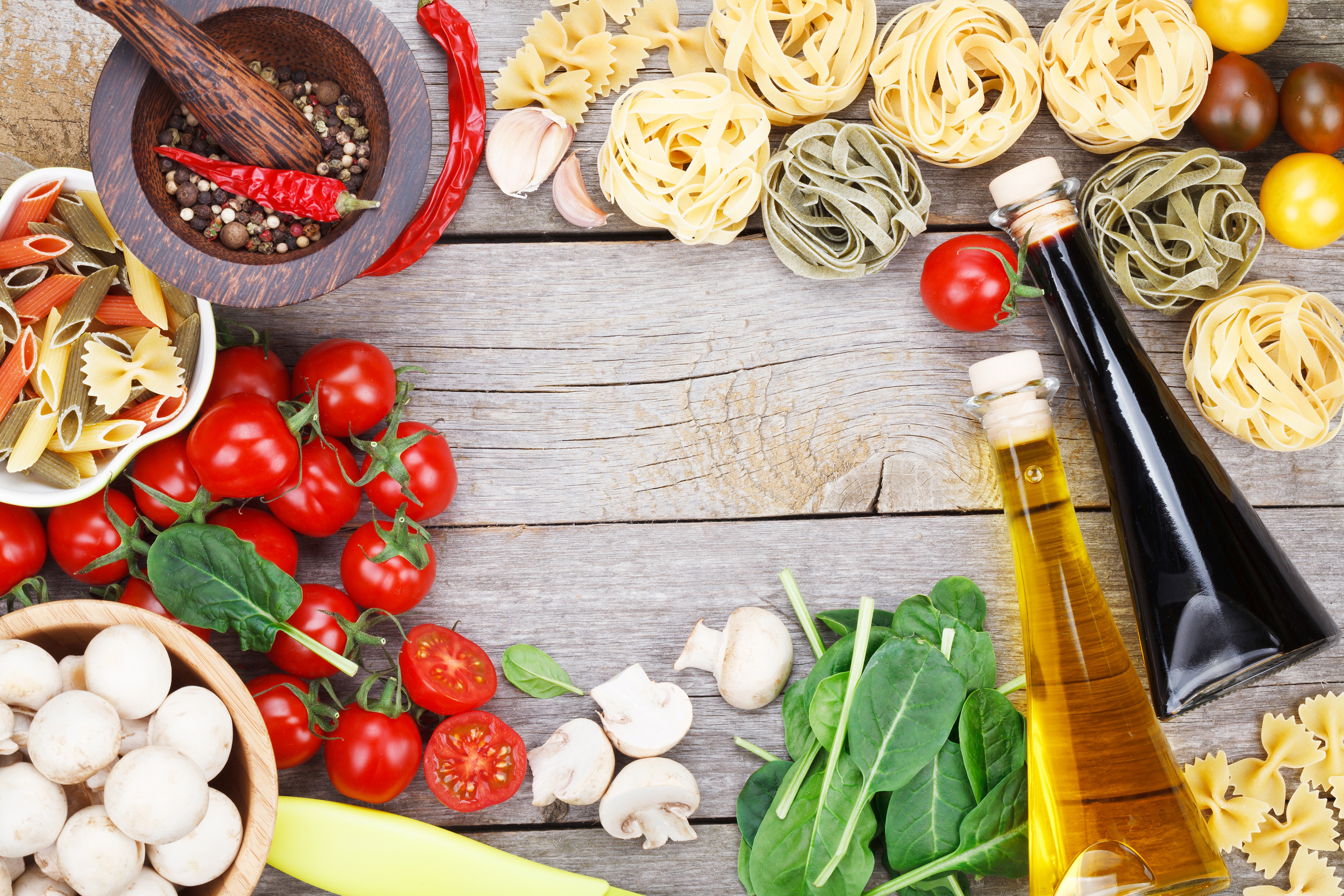 Noodles with edible oil tomatoes 55287