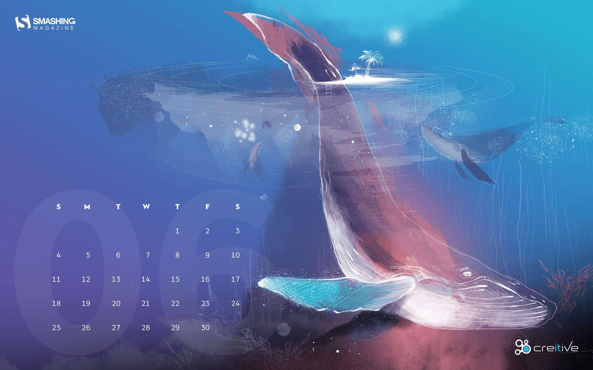 2017 June calendar wallpaper 55559