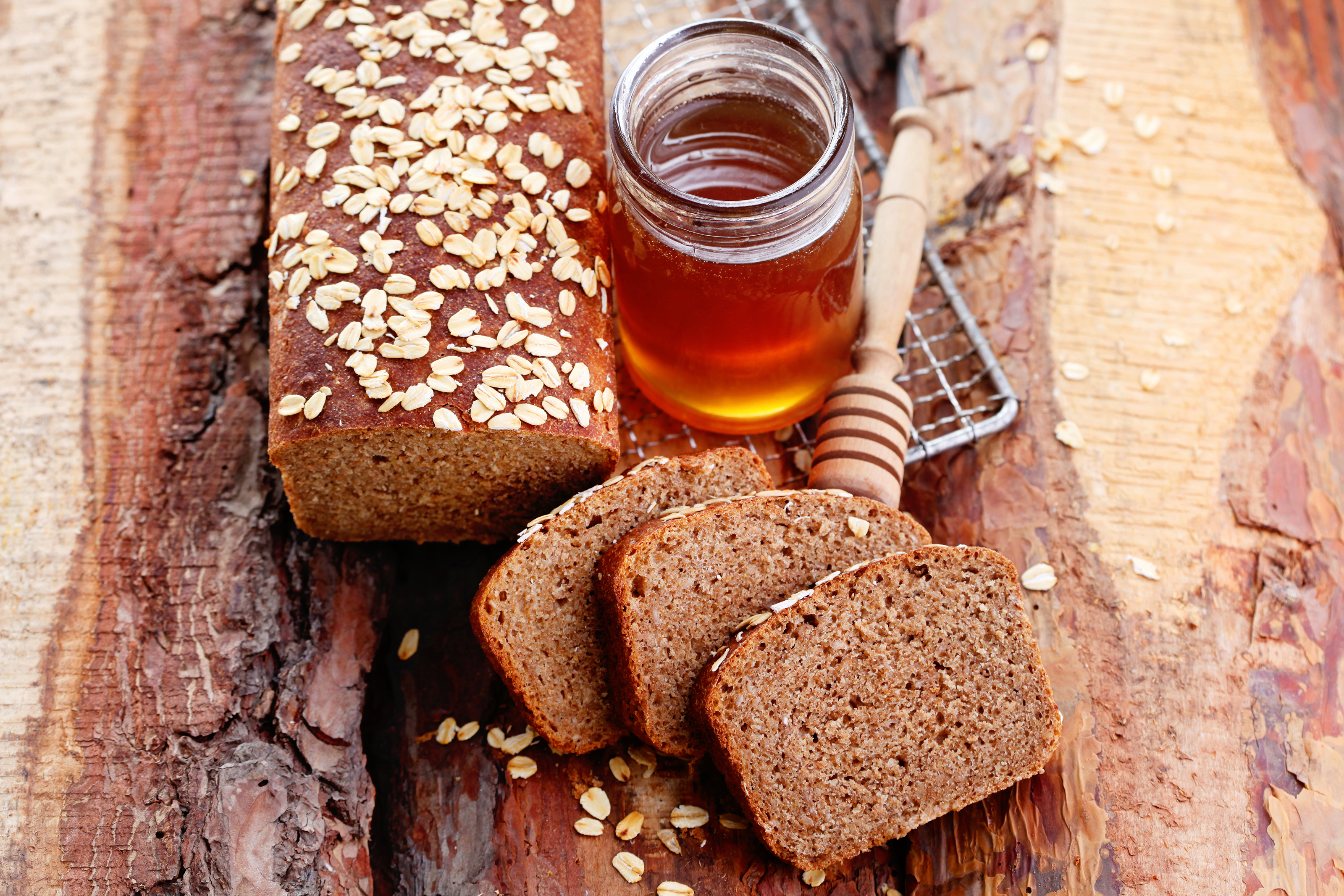 Whole wheat bread with honey 55847