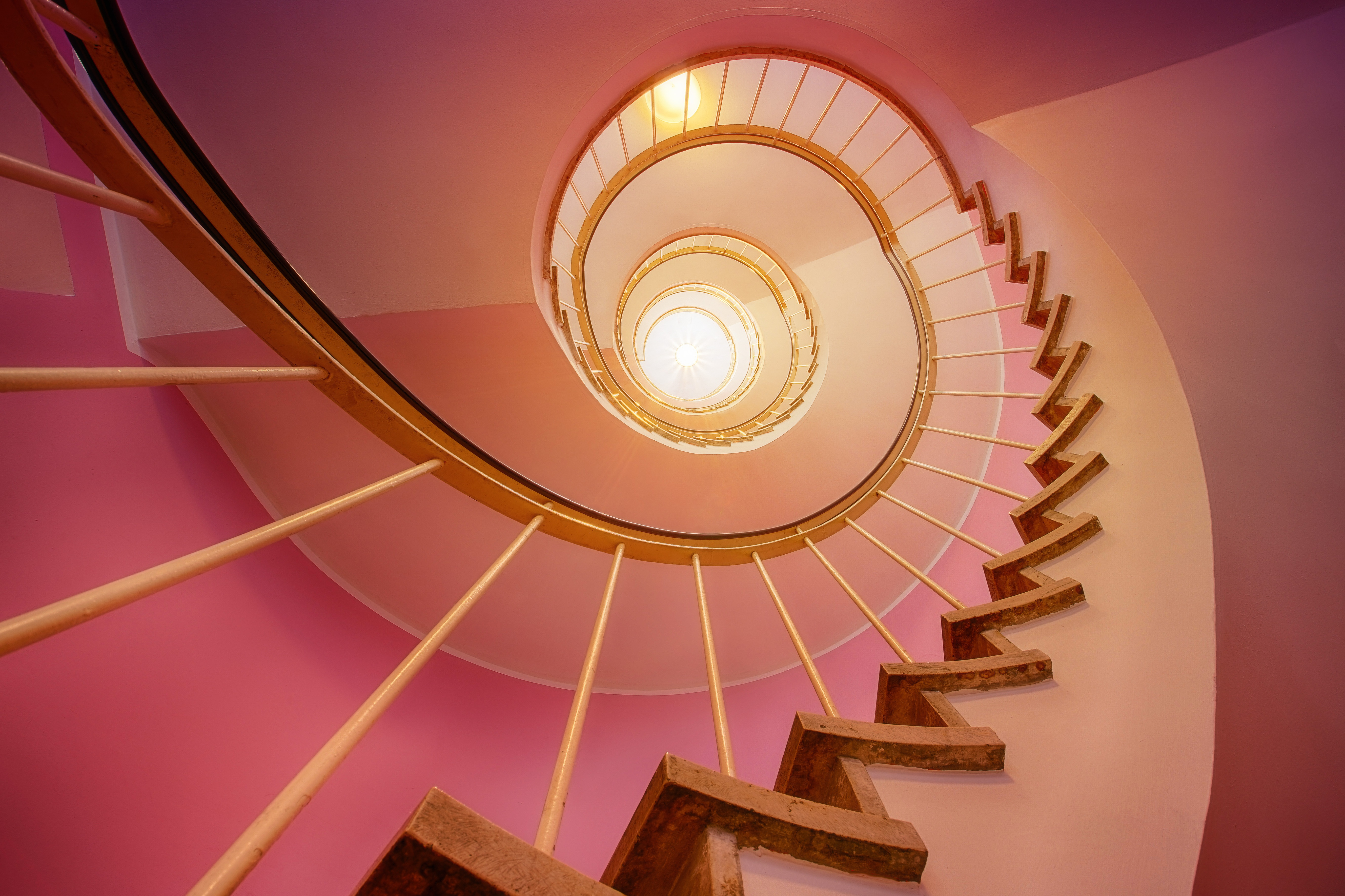 Spiral staircase 56125