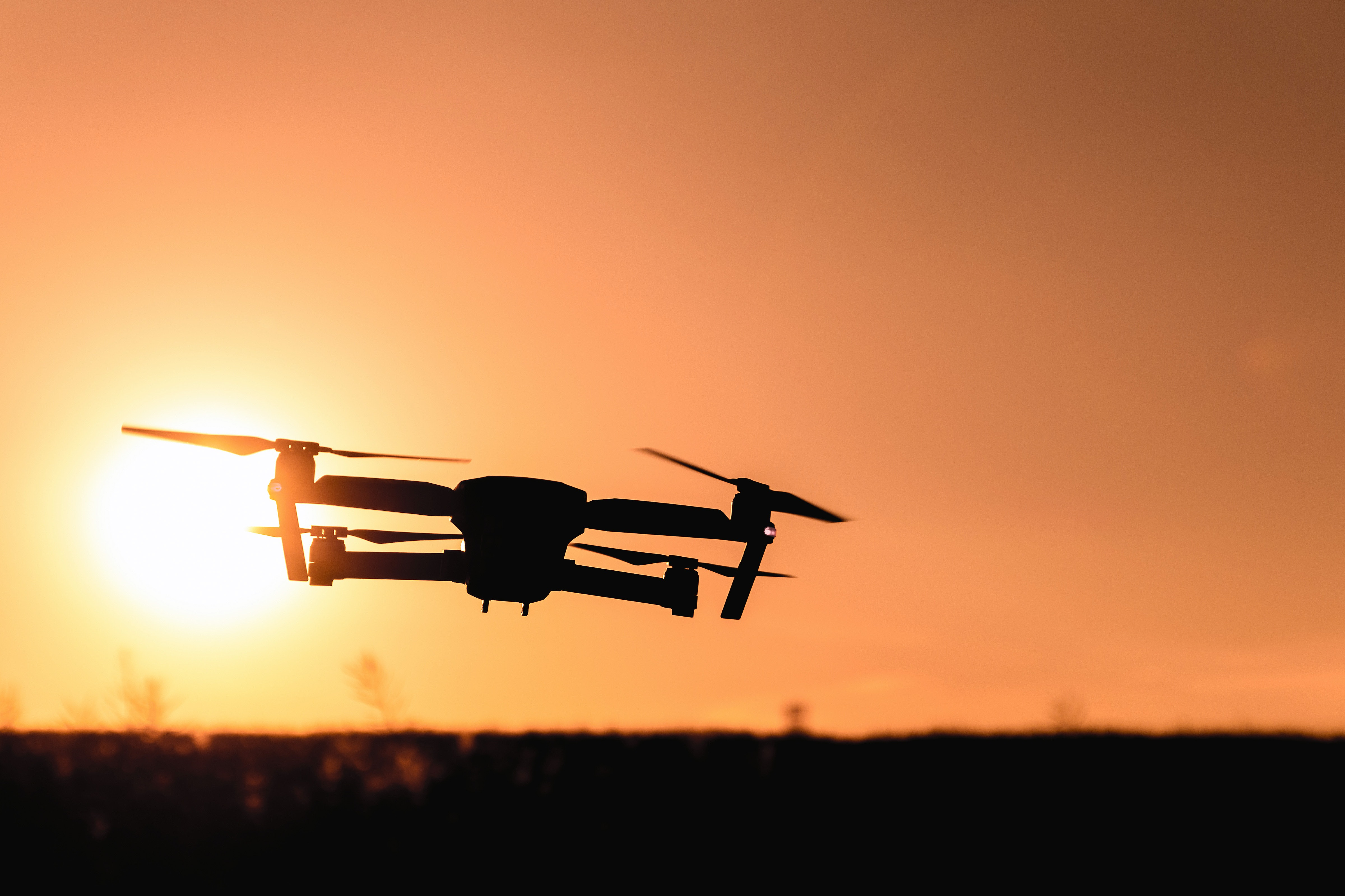 Drone 5022 in the sunset 56245