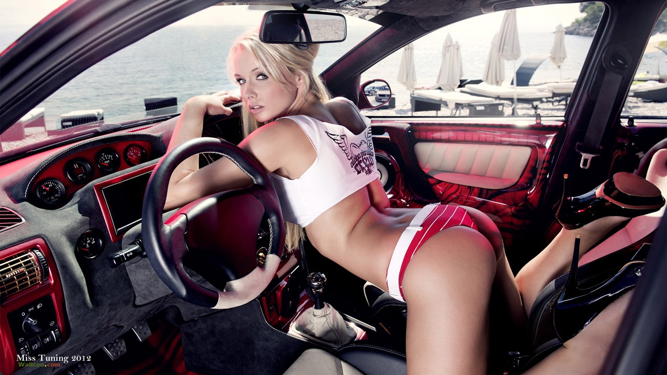 the german modified car models girl mandy lange wallpaper 31032