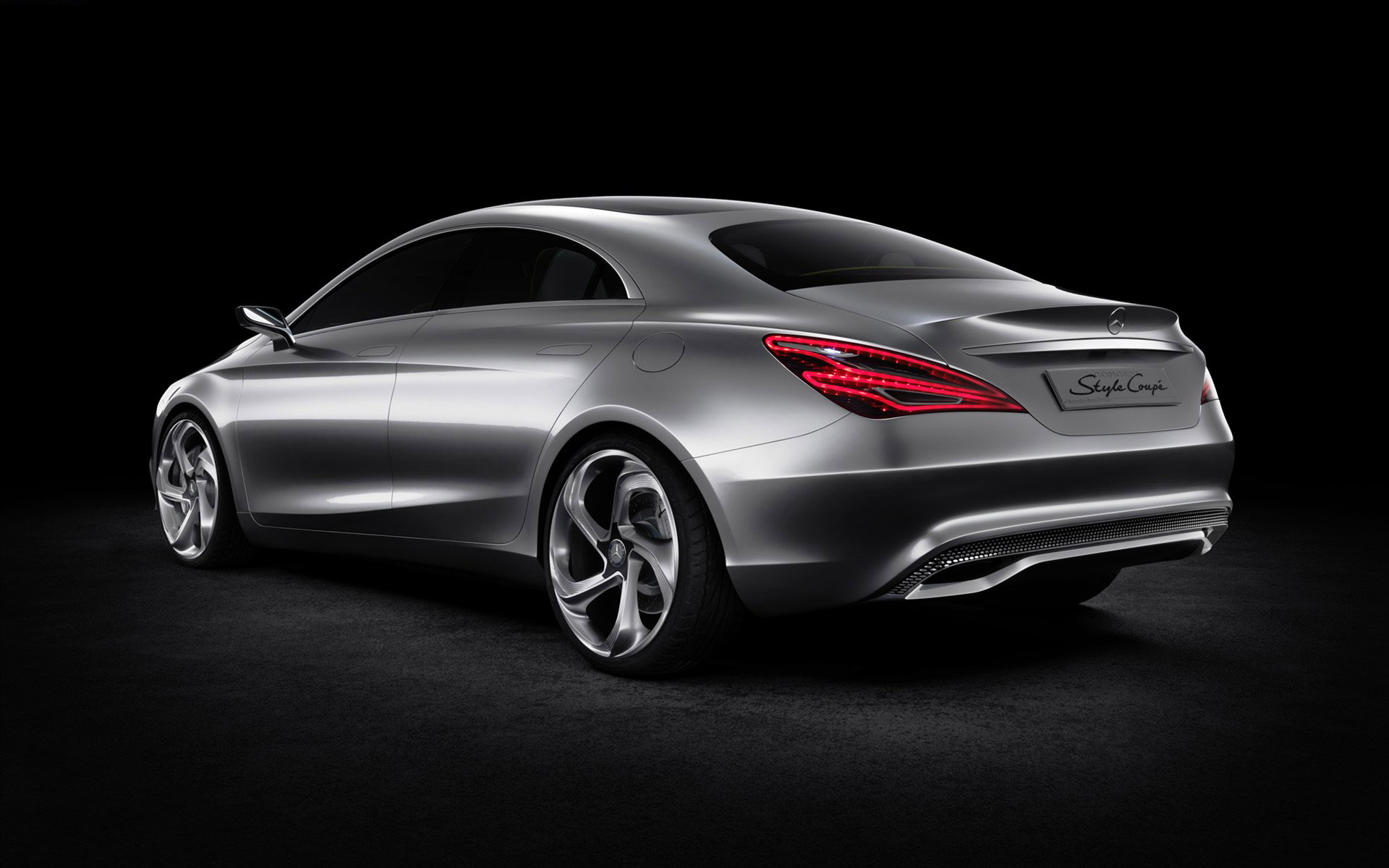 The Benz Coupe concept car 31123