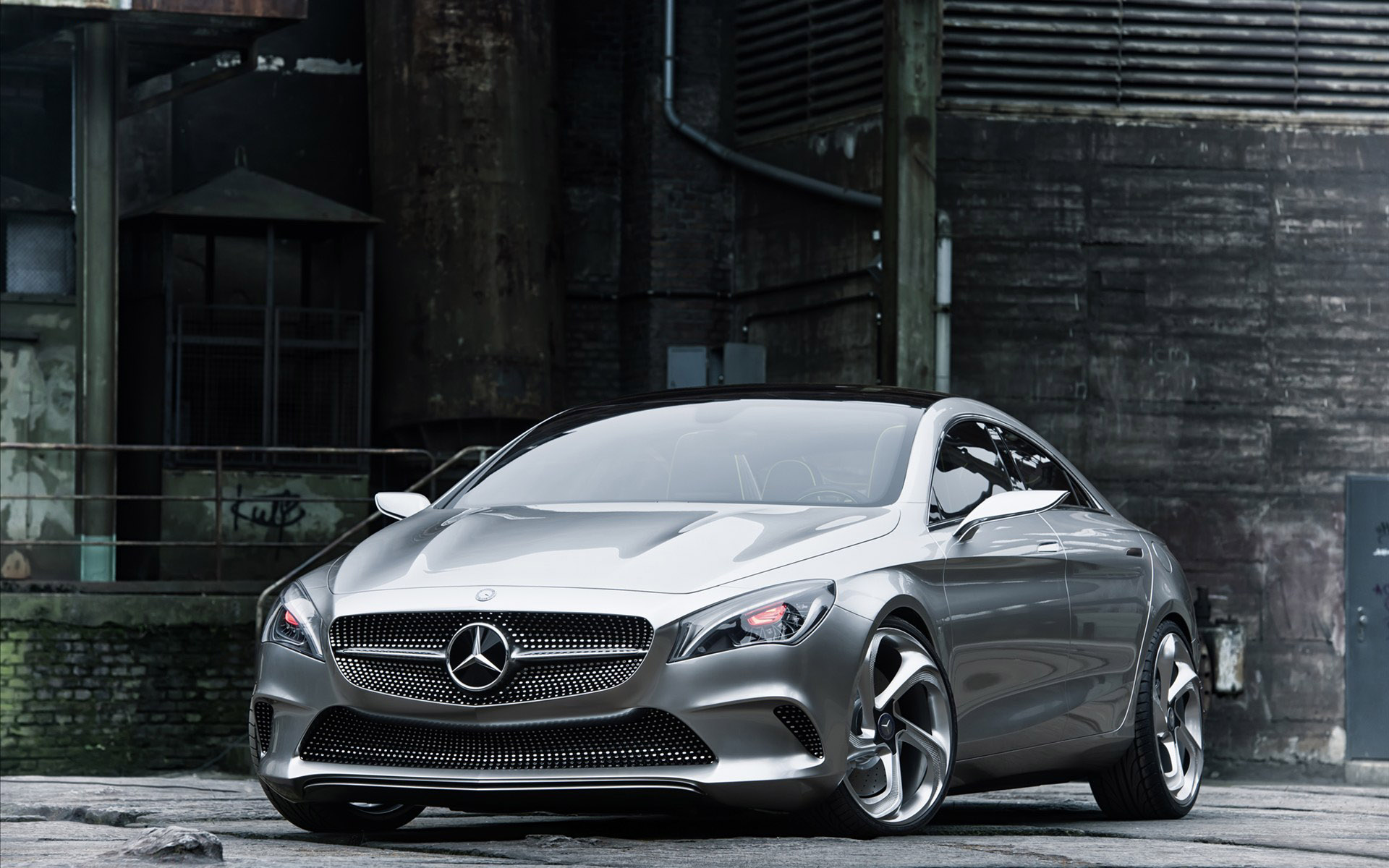 The Benz Coupe concept car 31134