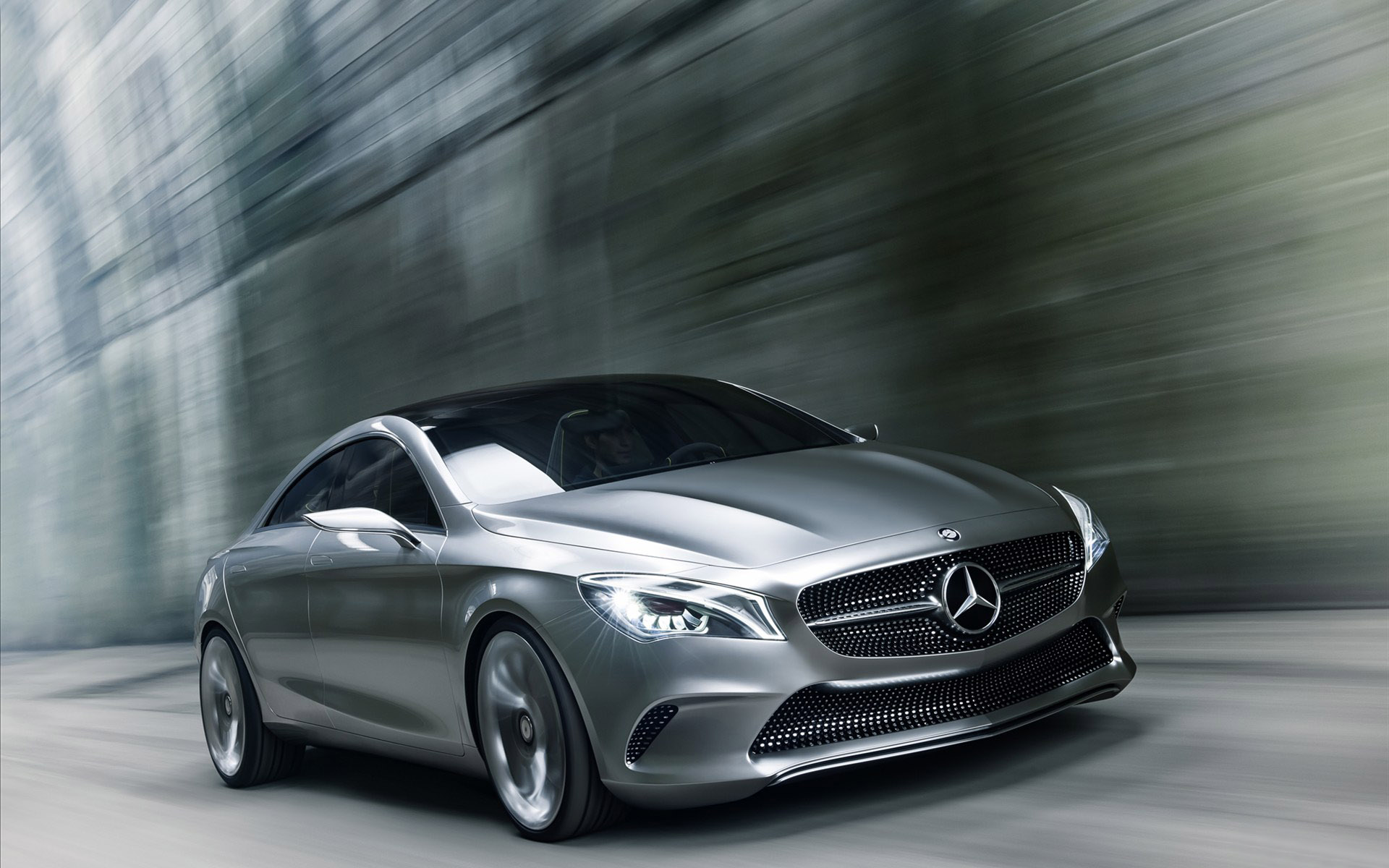 The Benz Coupe concept car 31145