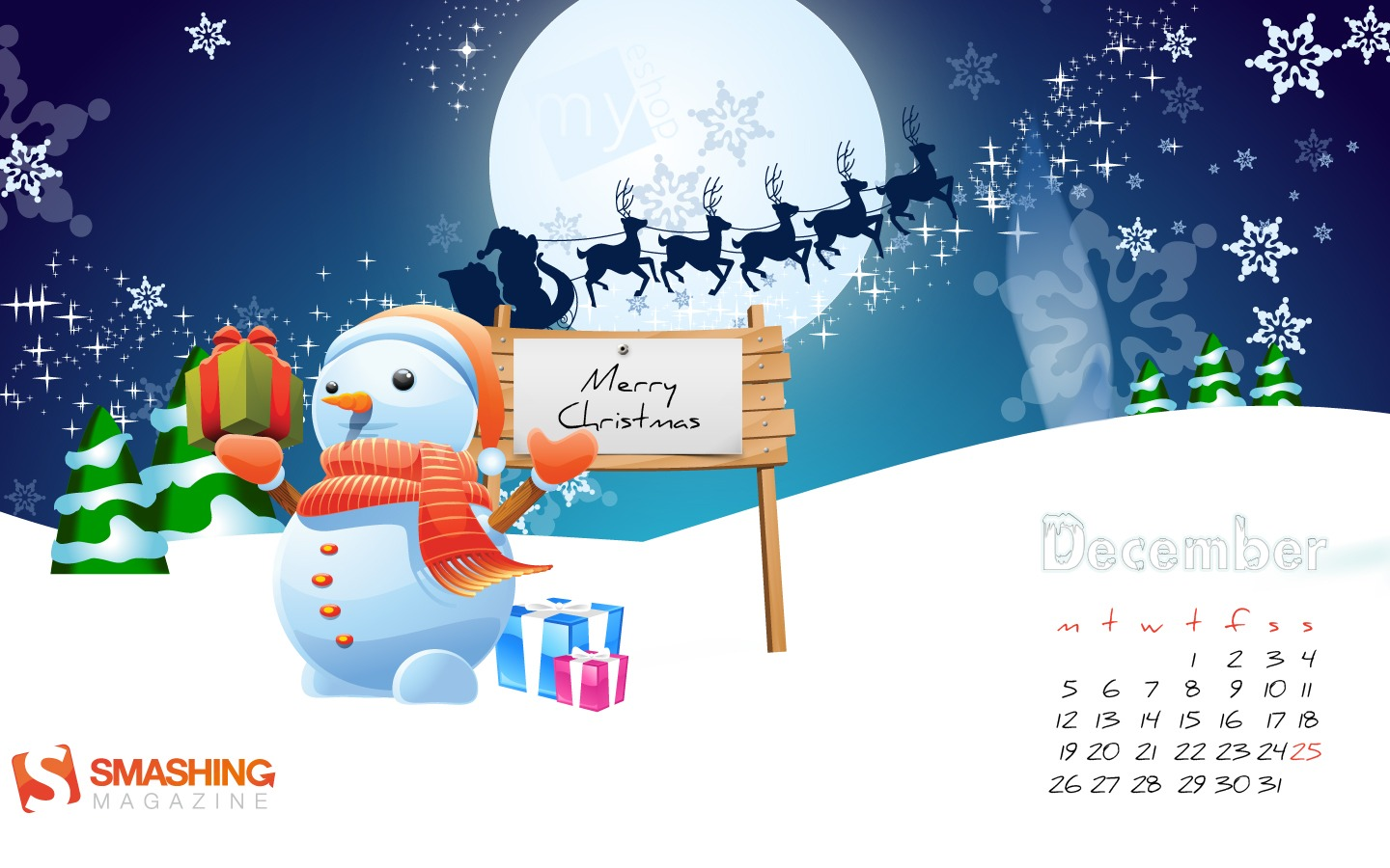 In January Calendar Wallpaper 31166