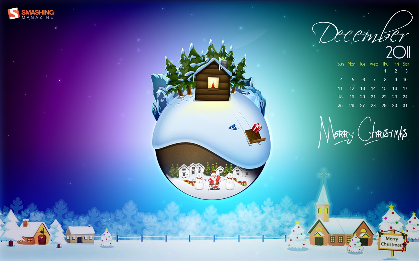 In January Calendar Wallpaper 31250