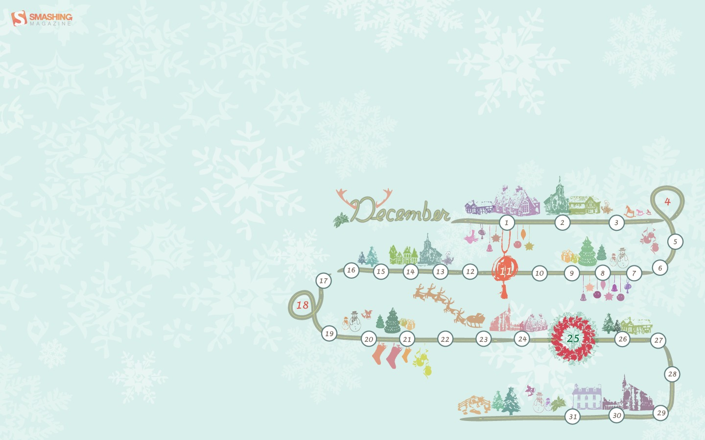 In January Calendar Wallpaper 31276