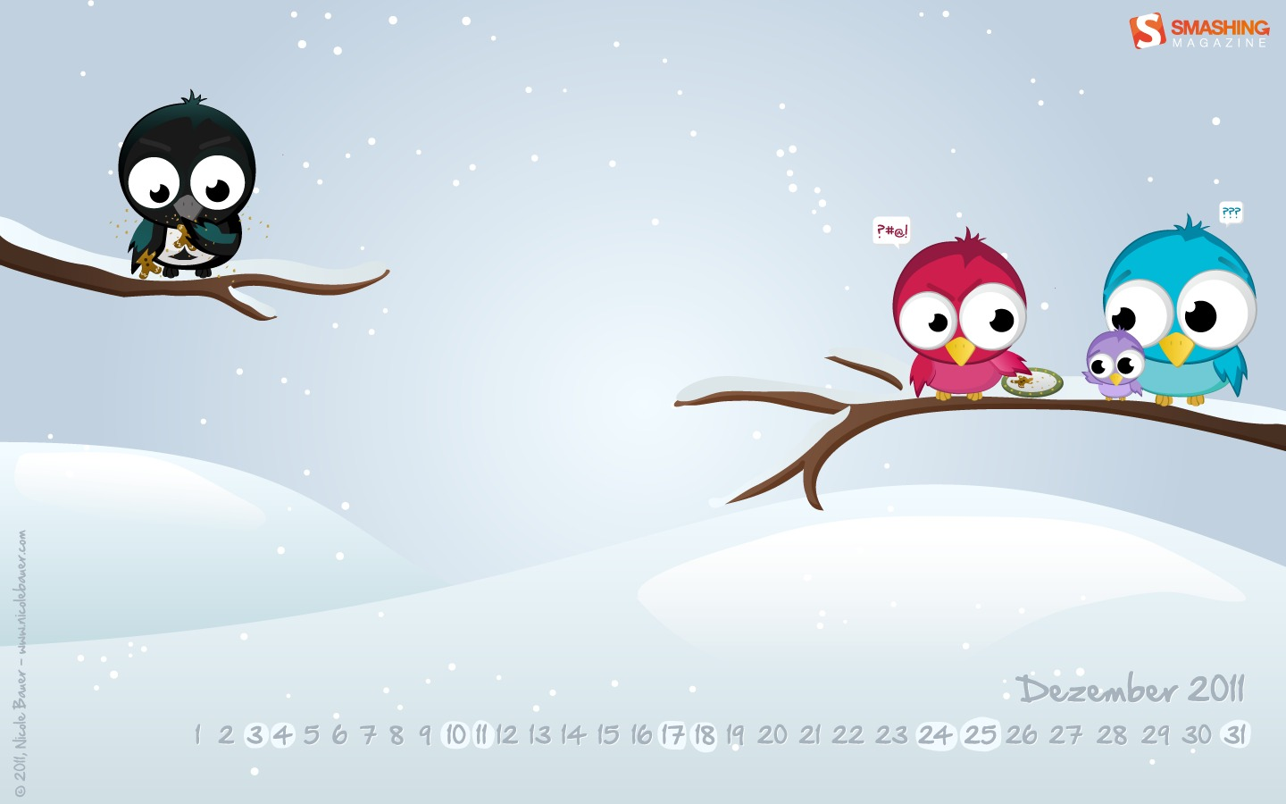 In January Calendar Wallpaper 31313