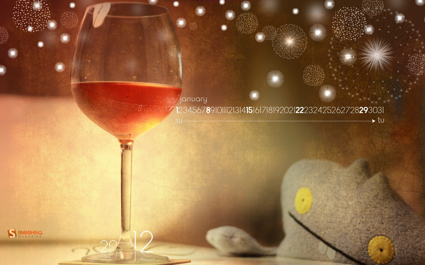 In January Calendar Wallpaper 31353